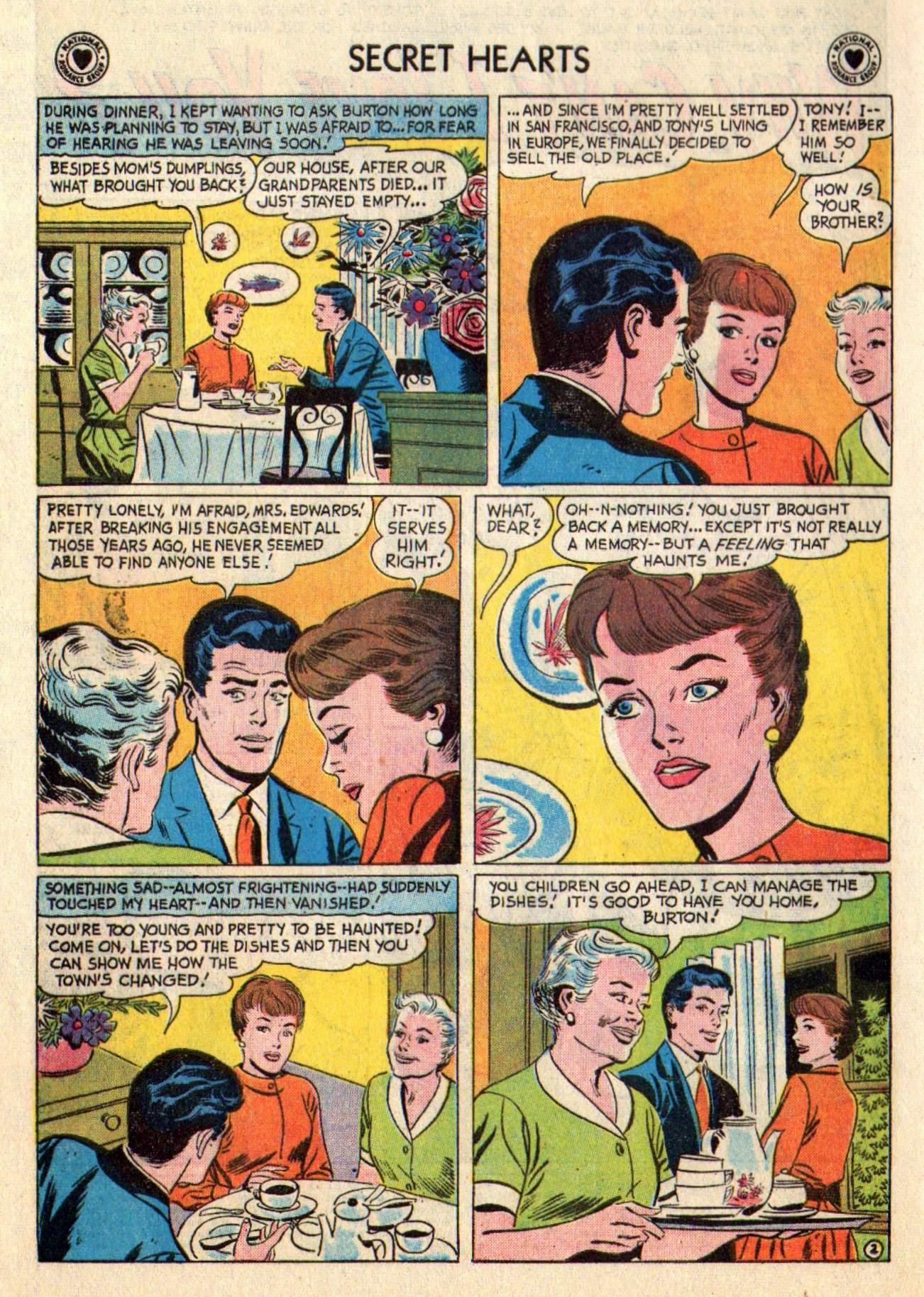 Read online Secret Hearts comic -  Issue #48 - 4