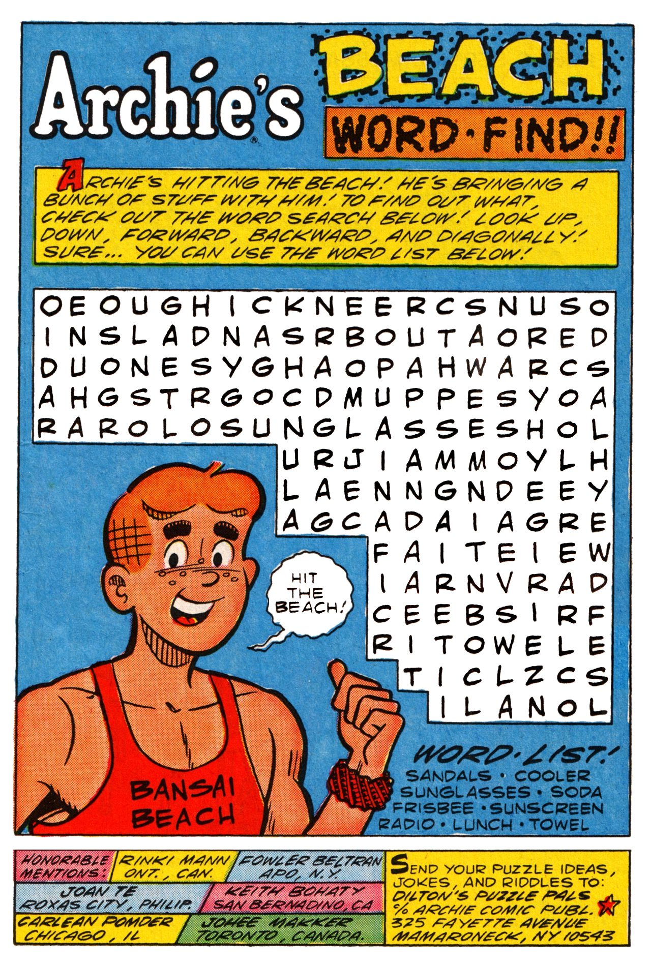 Read online Archie (1960) comic -  Issue #361 - 12