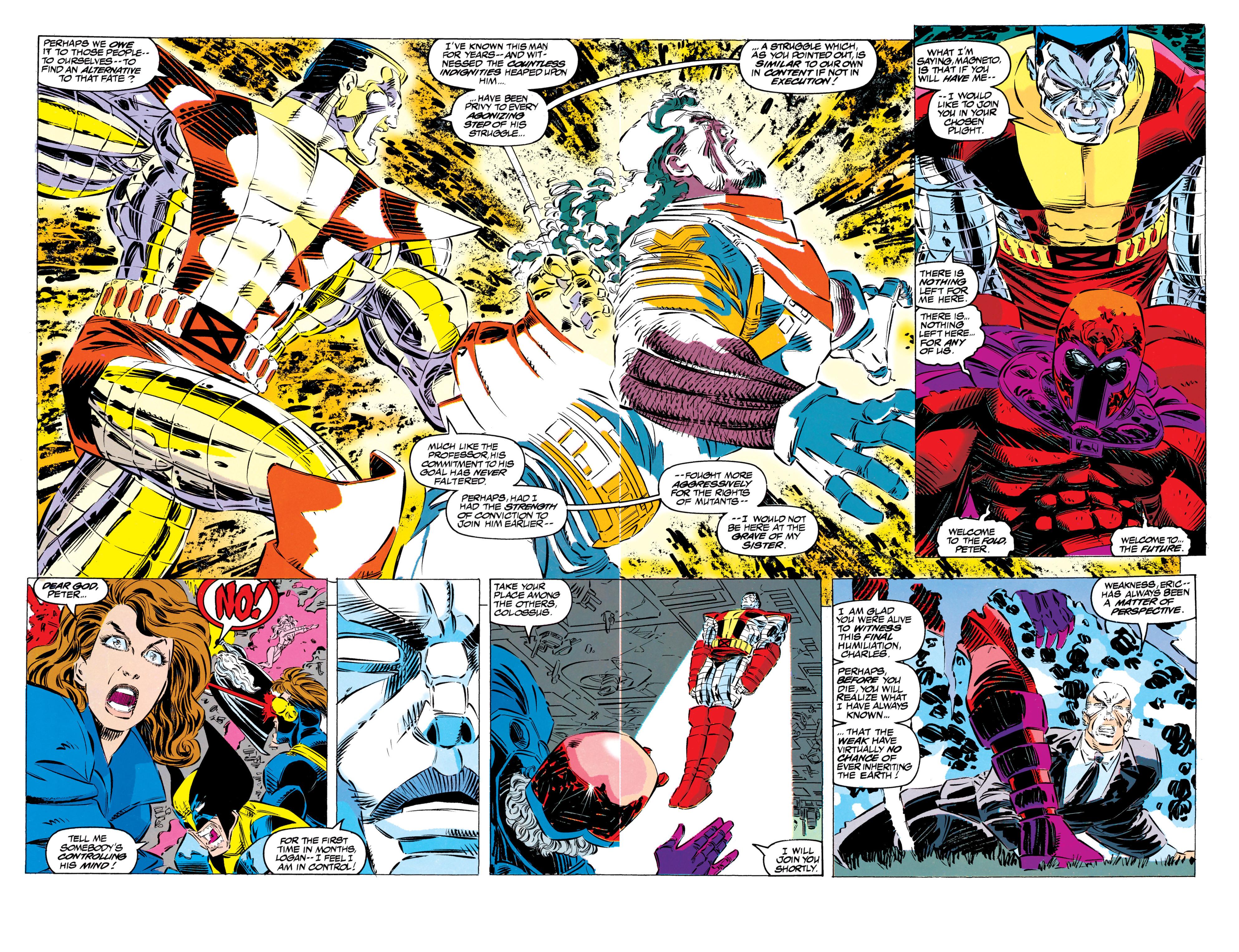 Read online Uncanny X-Men (1963) comic -  Issue #304 - 40