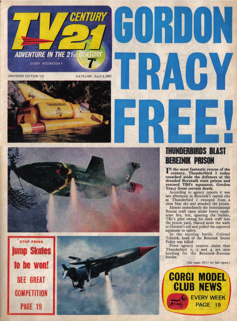 TV Century 21 (TV 21) issue 116 - Page 1
