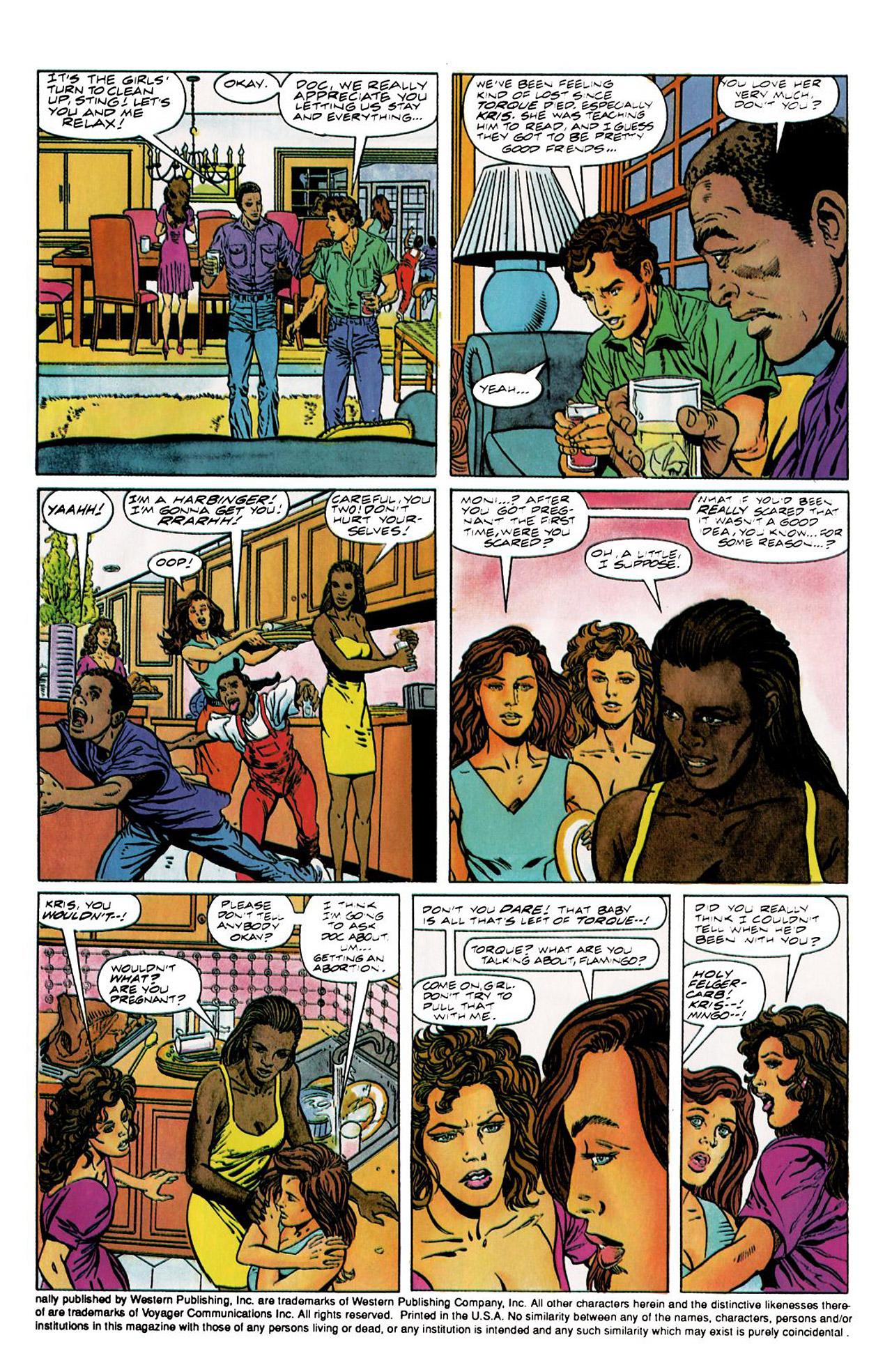 Read online Harbinger (1992) comic -  Issue #8 - 4