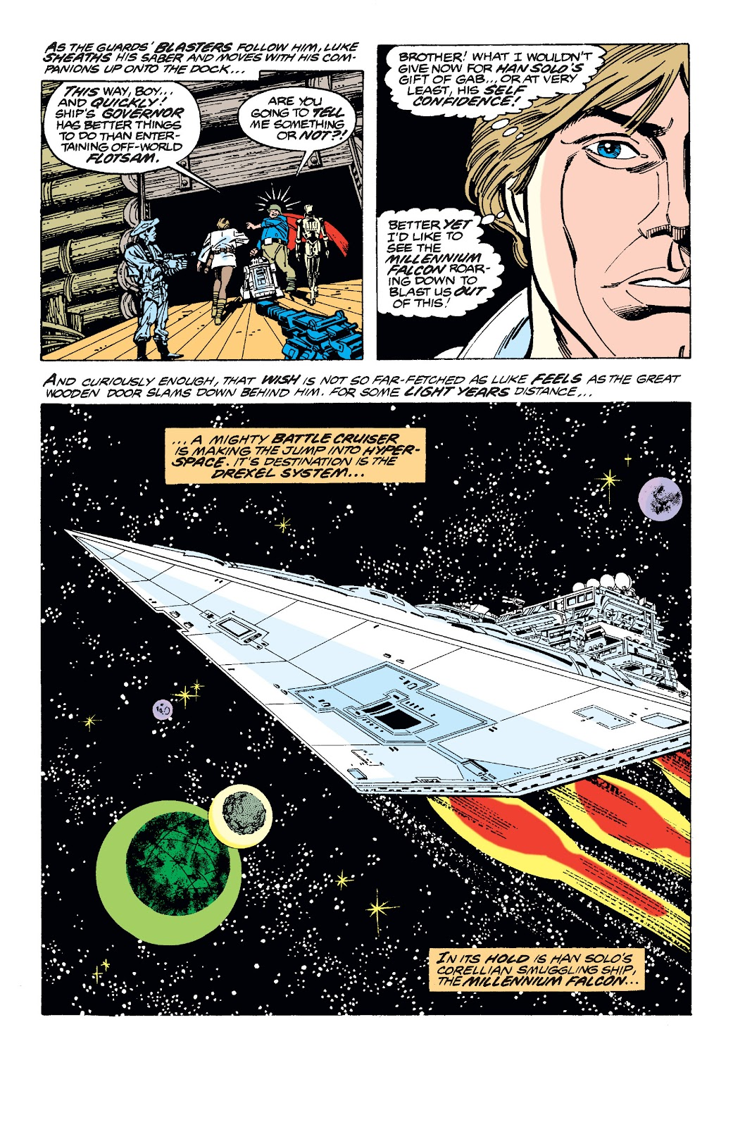 Read online Star Wars Legends: The Original Marvel Years - Epic Collection comic -  Issue # TPB 1 (Part 3) - 20