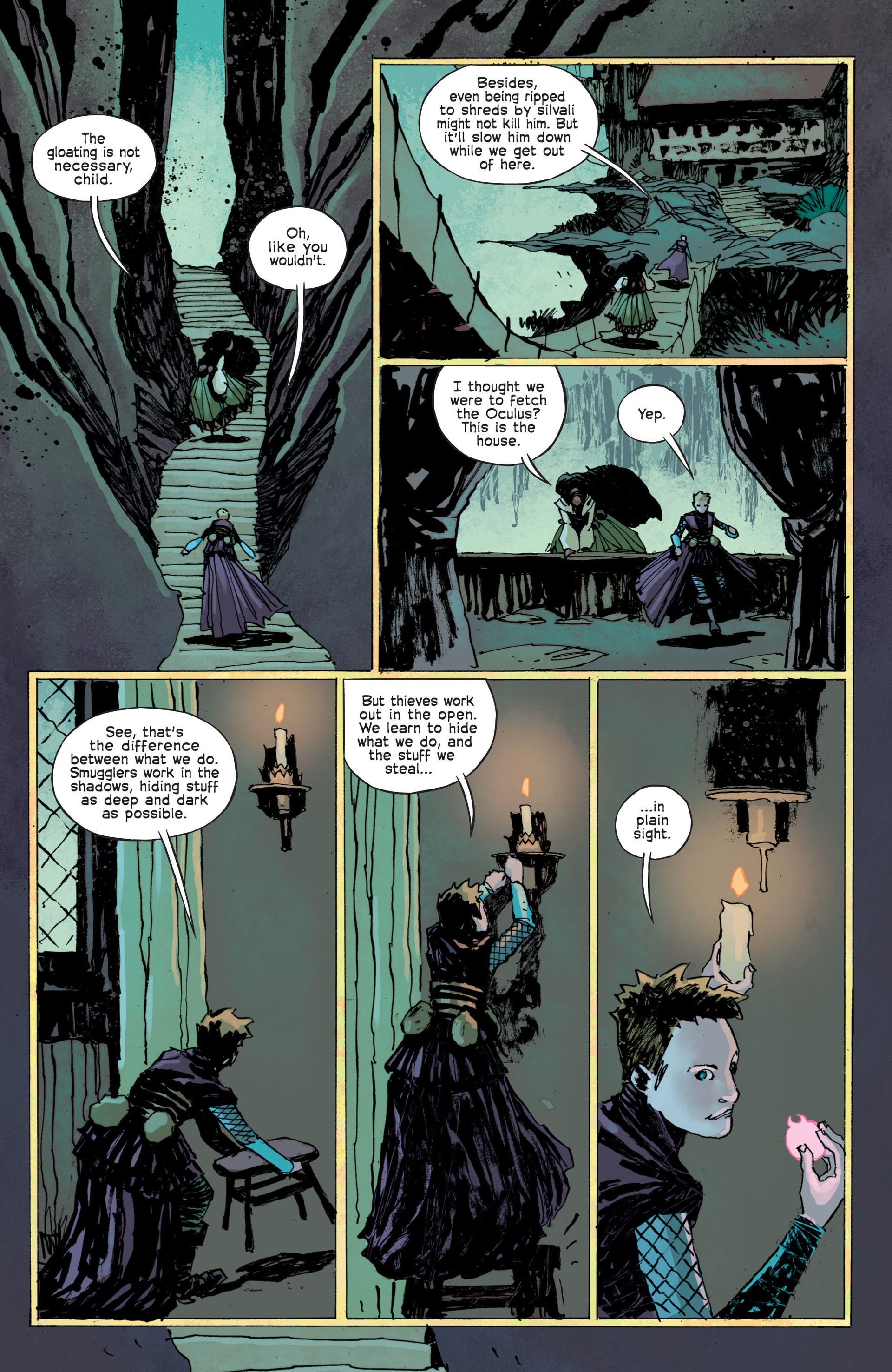 Read online Umbral comic -  Issue #12 - 15