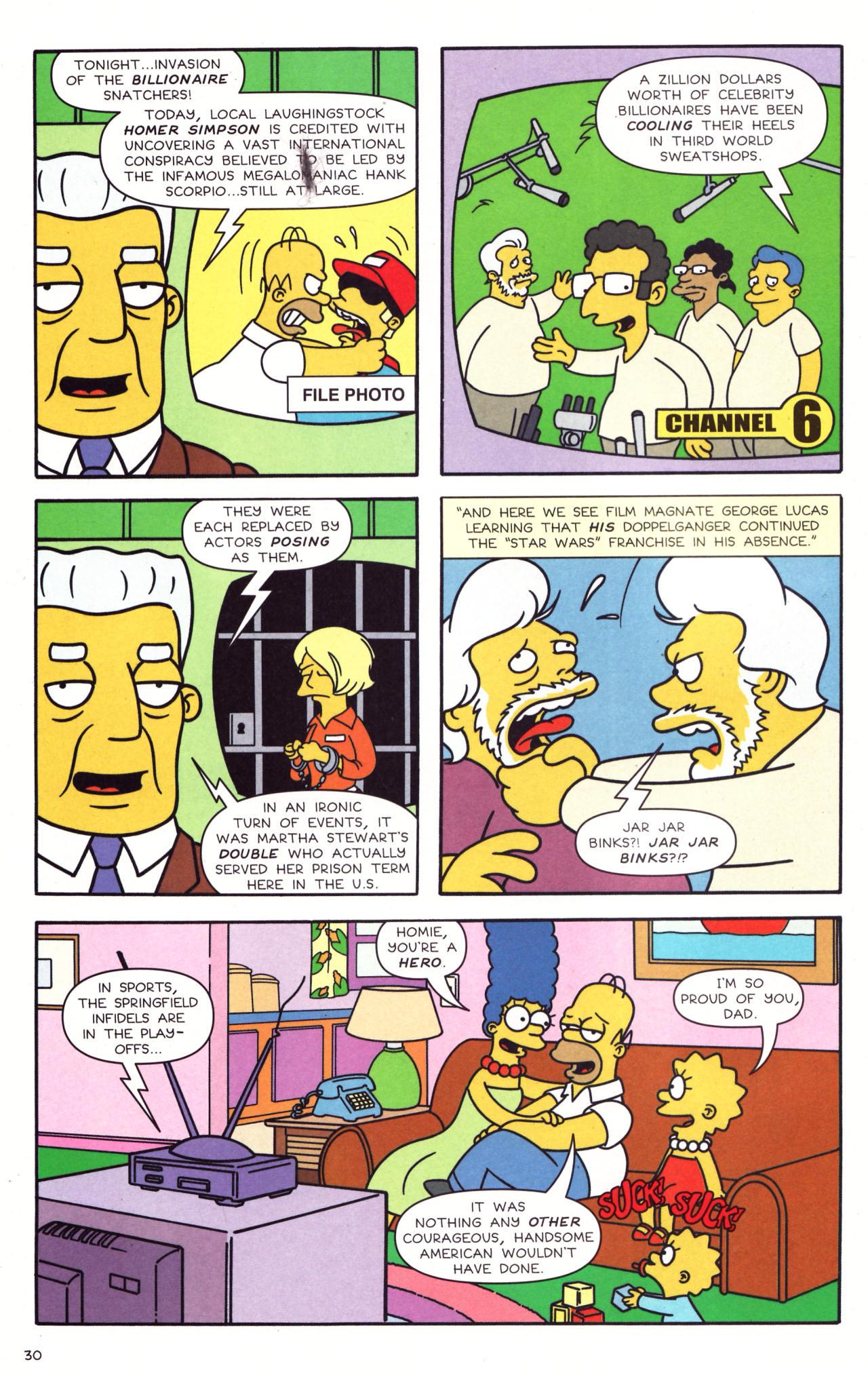 Read online Simpsons Comics comic -  Issue #133 - 25