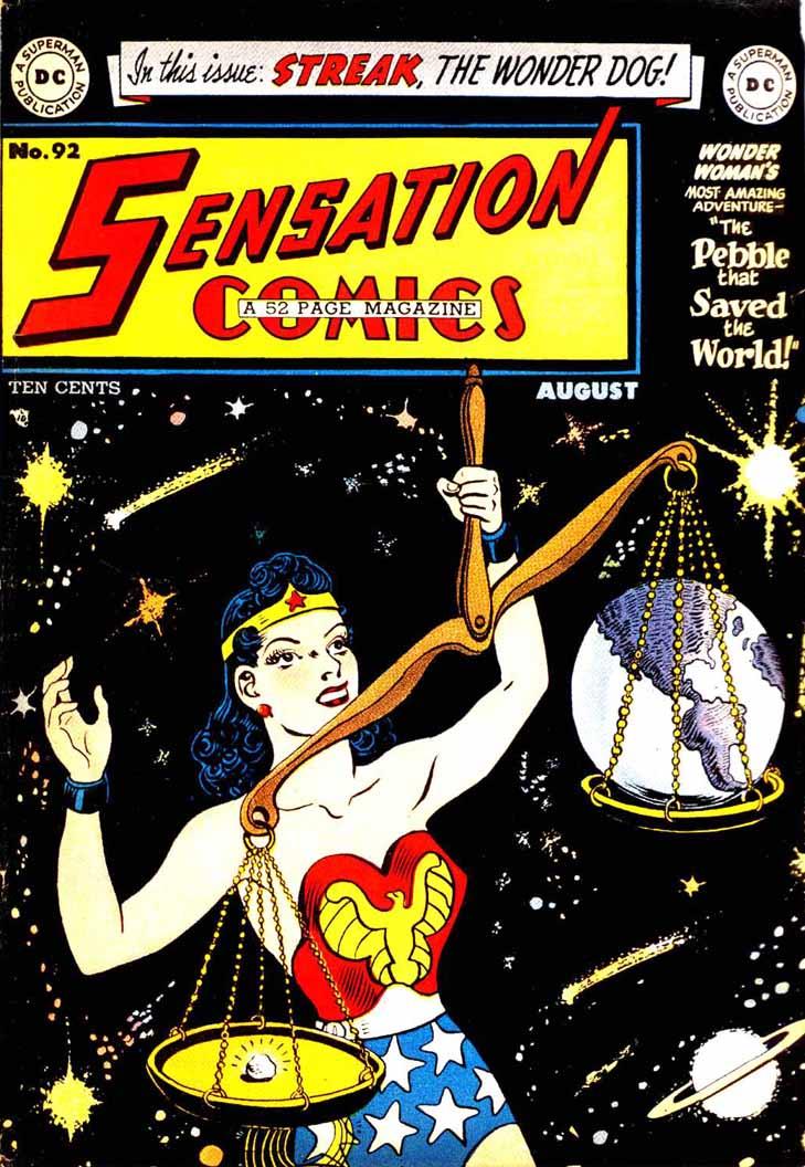 Sensation (Mystery) Comics 92 Page 1