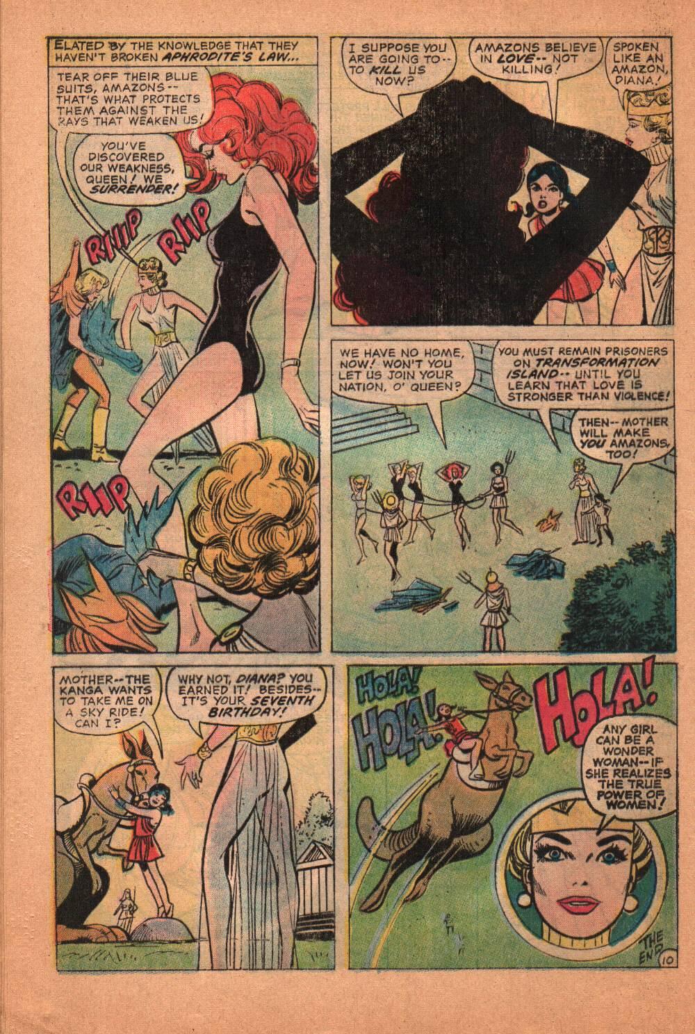Read online Wonder Woman (1942) comic -  Issue #209 - 31