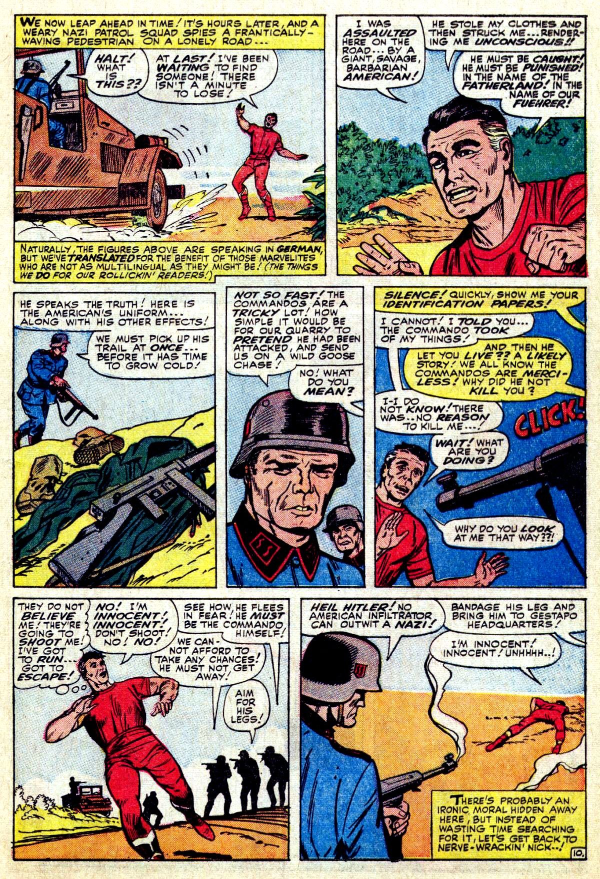 Read online Sgt. Fury comic -  Issue #27 - 15