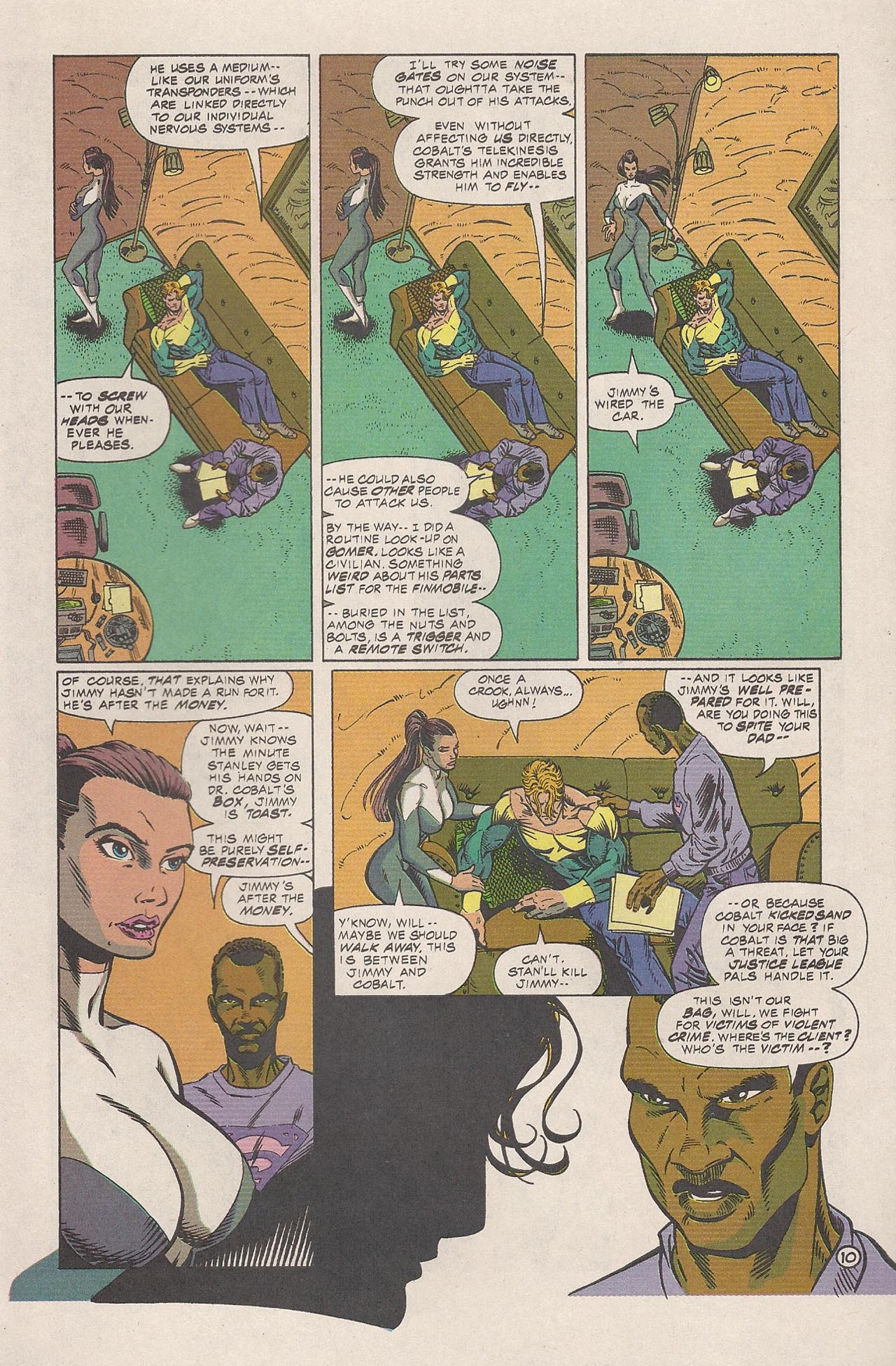Read online Triumph comic -  Issue #4 - 16