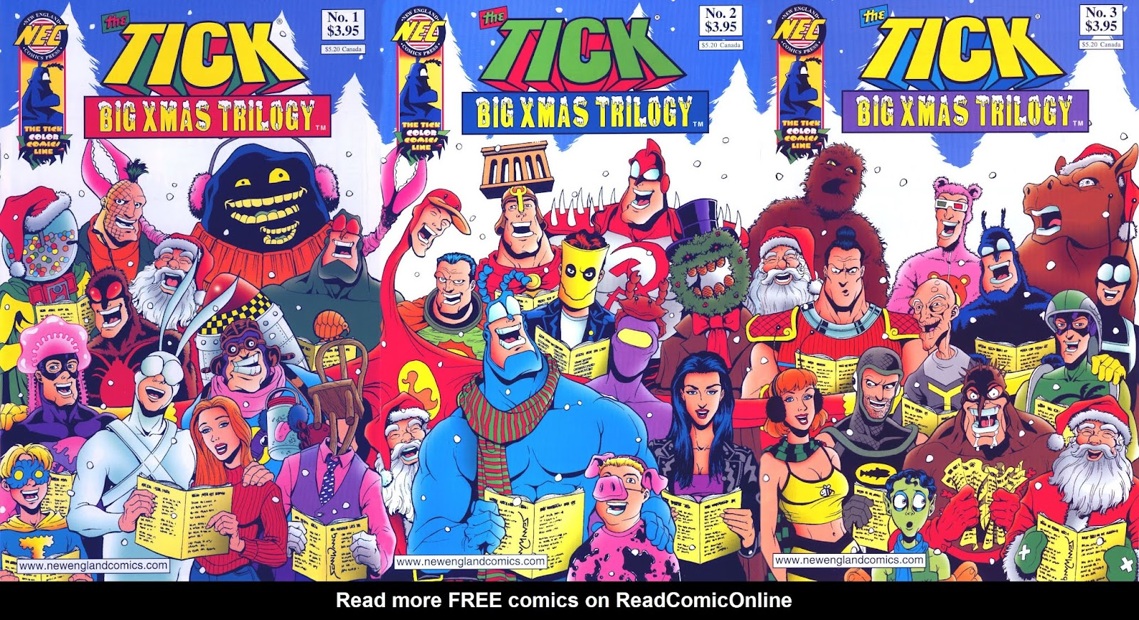 The Ticks Big Xmas Trilogy 3 Page 1