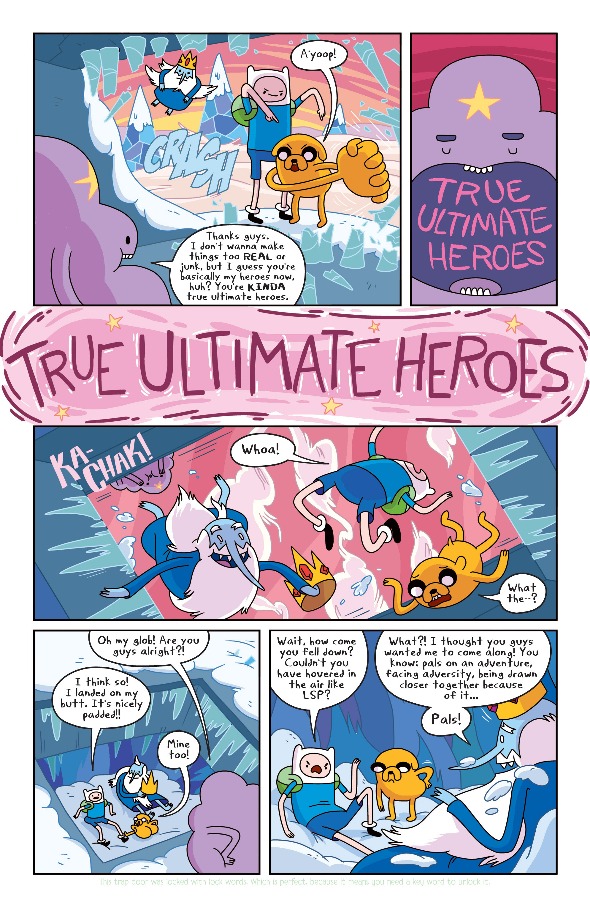 Read online Adventure Time comic -  Issue #16 - 8