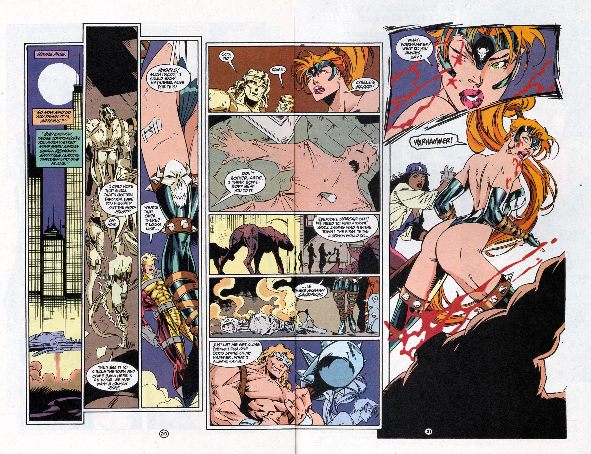 Read online Artemis: Requiem comic -  Issue #5 - 27