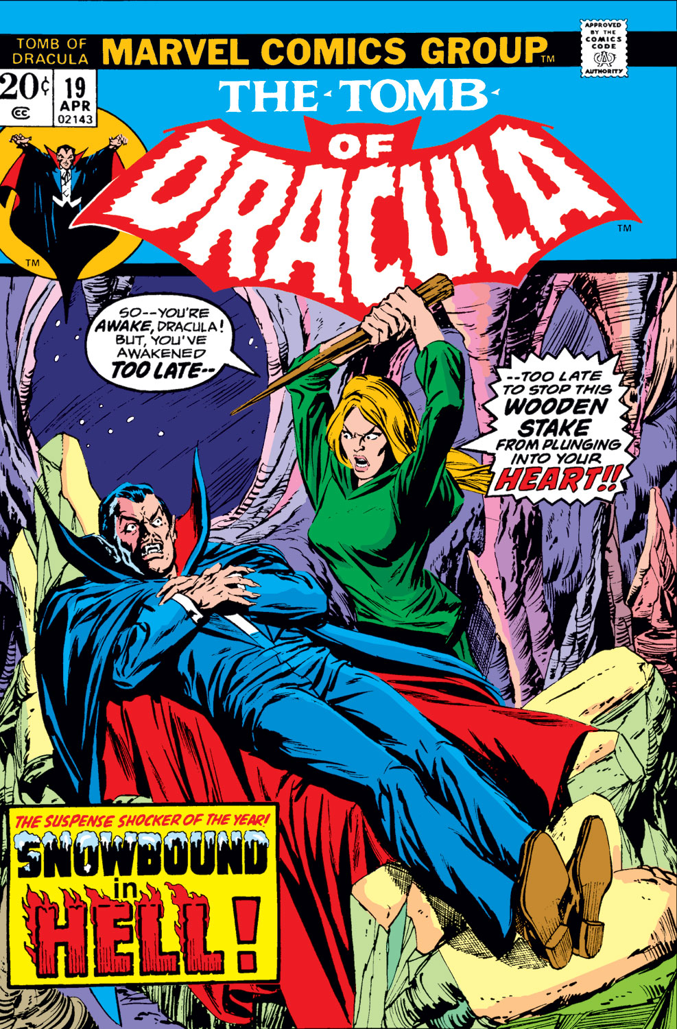 Tomb of Dracula (1972) issue 19 - Page 1