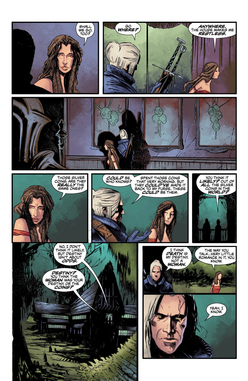 Read online The Witcher Omnibus comic -  Issue # TPB (Part 1) - 87