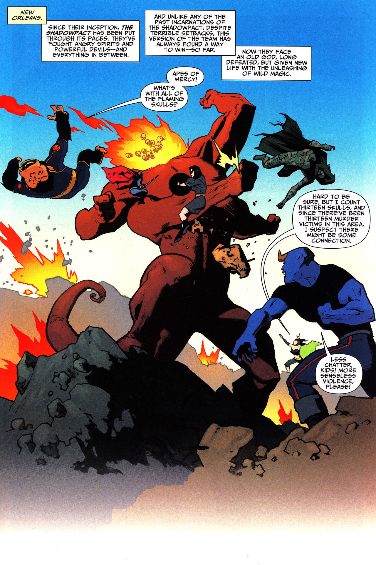 Read online Shadowpact comic -  Issue #13 - 2