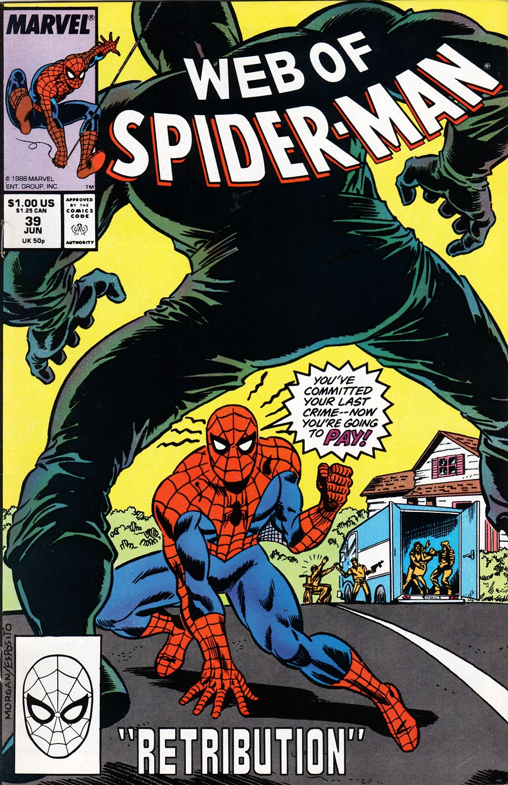 Web of Spider-Man (1985) 39 Page 1