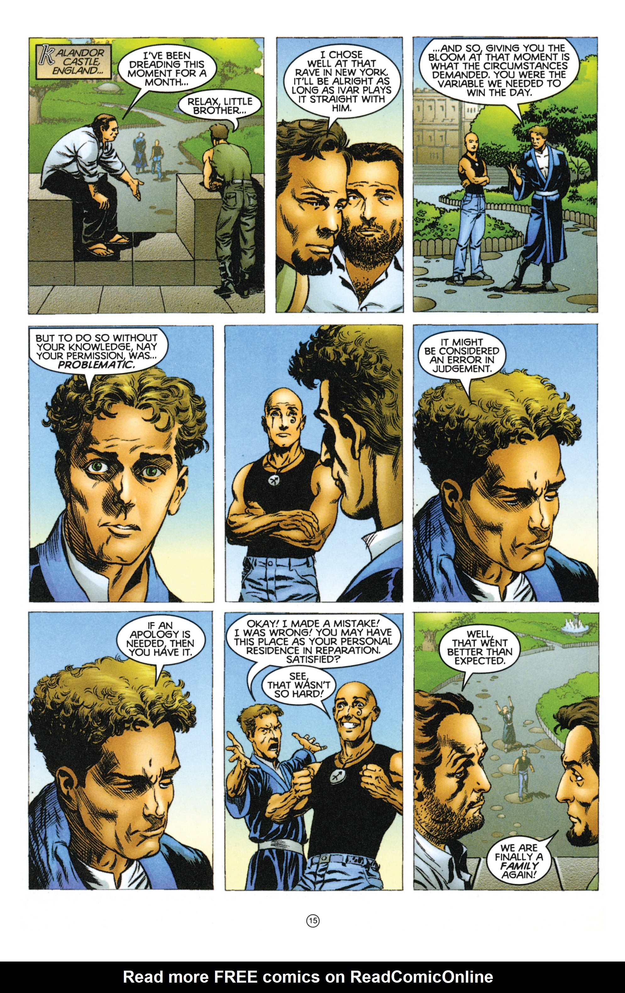 Read online Eternal Warriors comic -  Issue # Issue Mog - 13