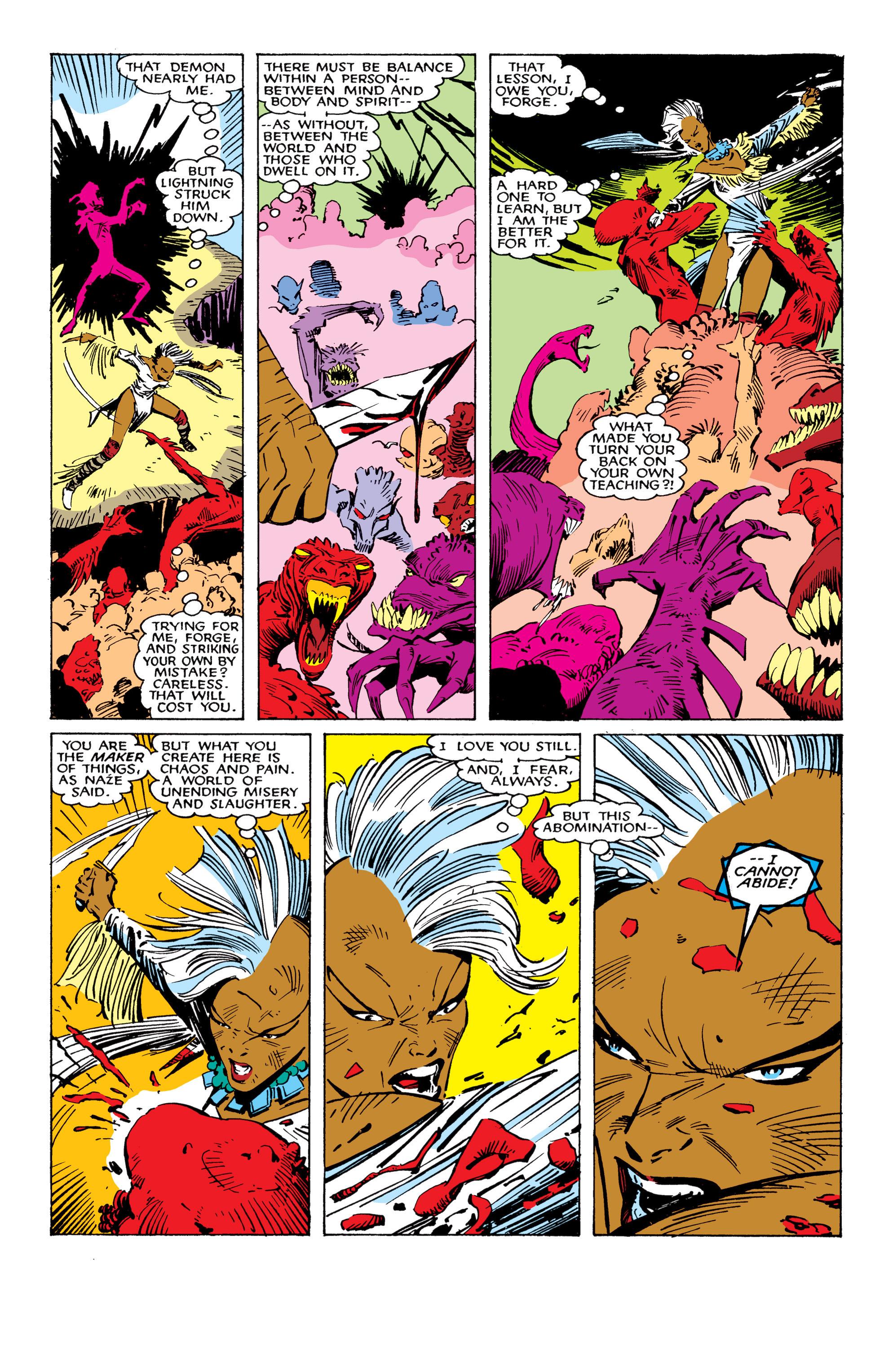 Read online Uncanny X-Men (1963) comic -  Issue #224 - 23
