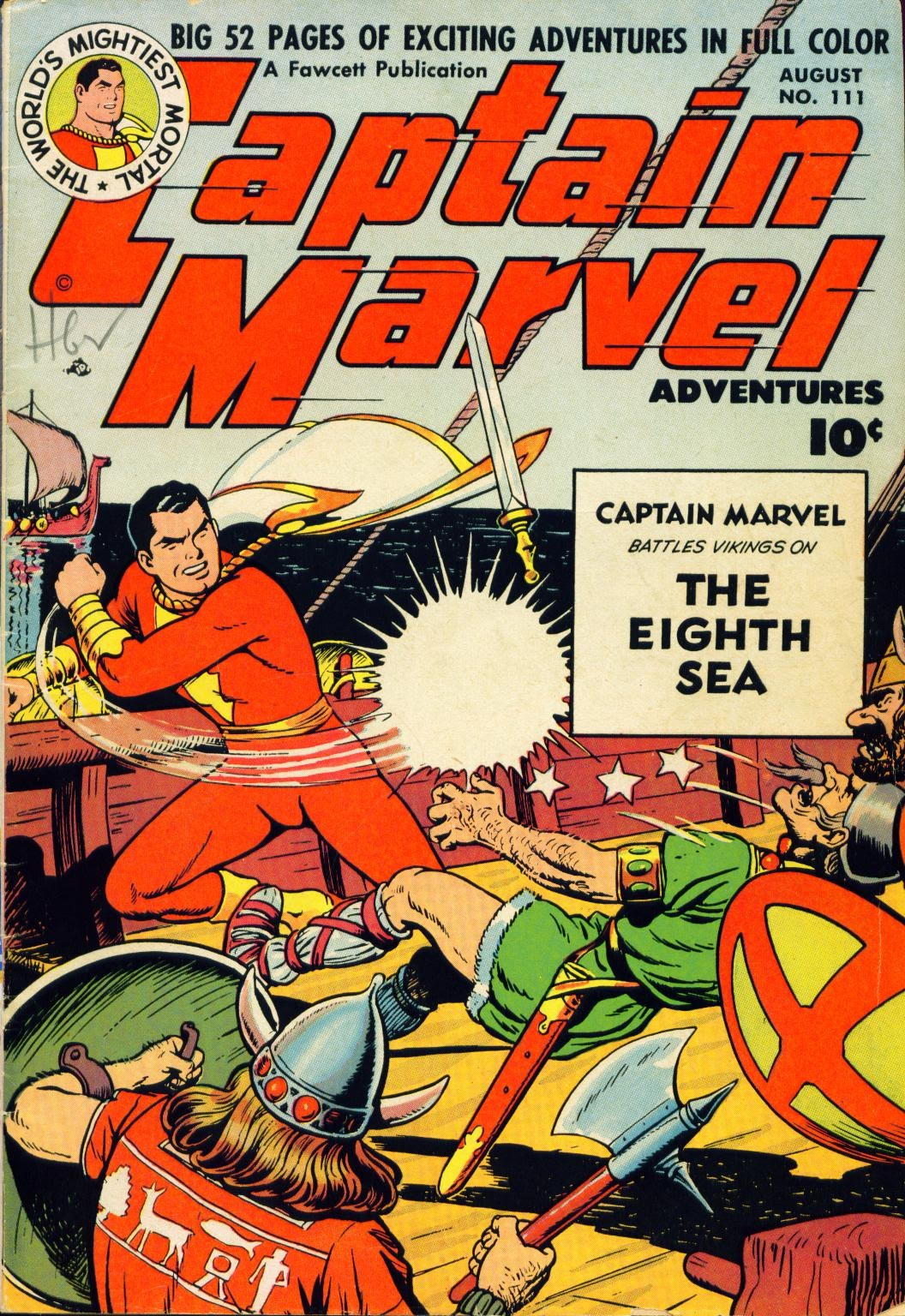 Captain Marvel Adventures 111 Page 1