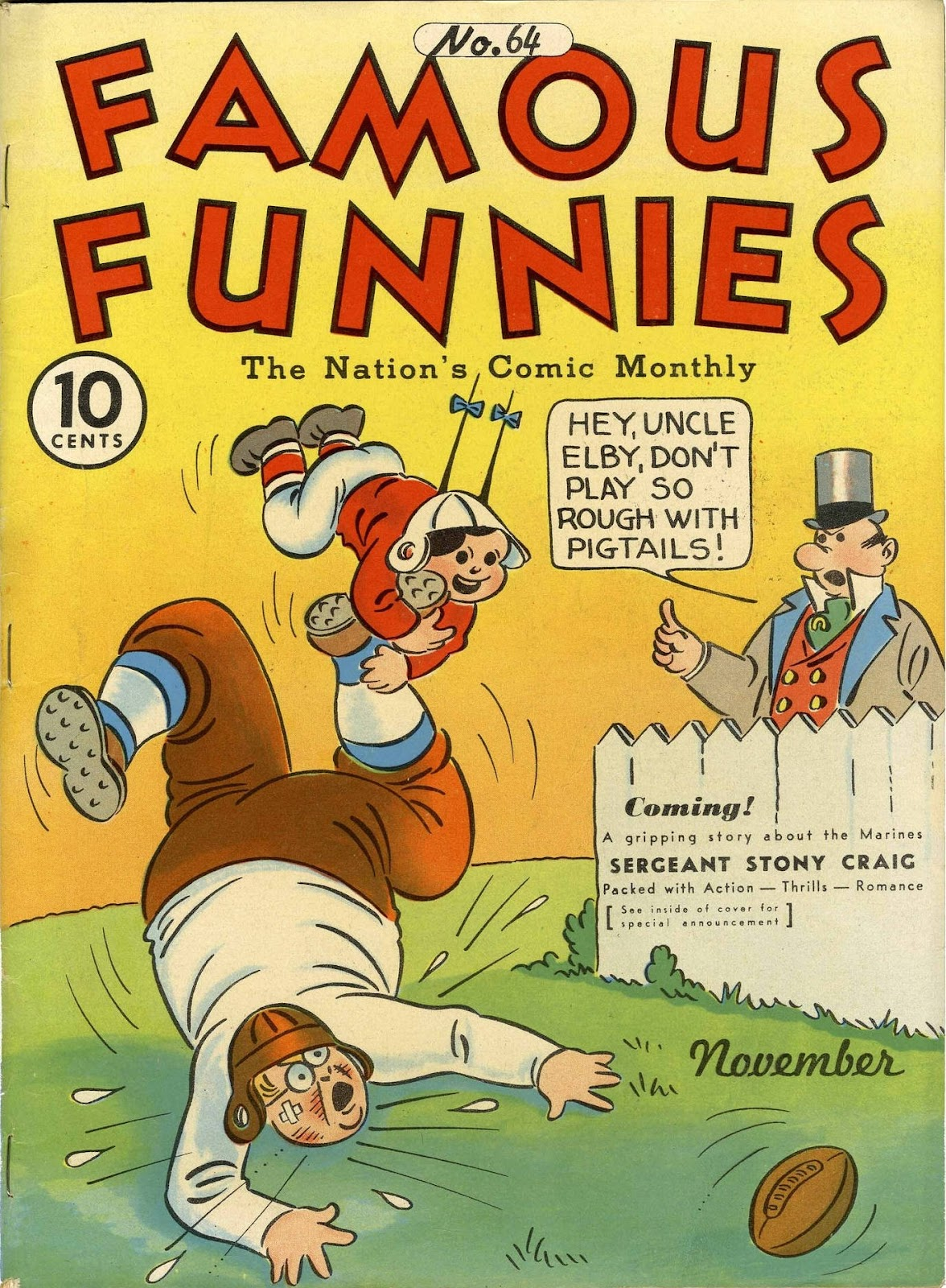 Read online Famous Funnies comic -  Issue #64 - 1