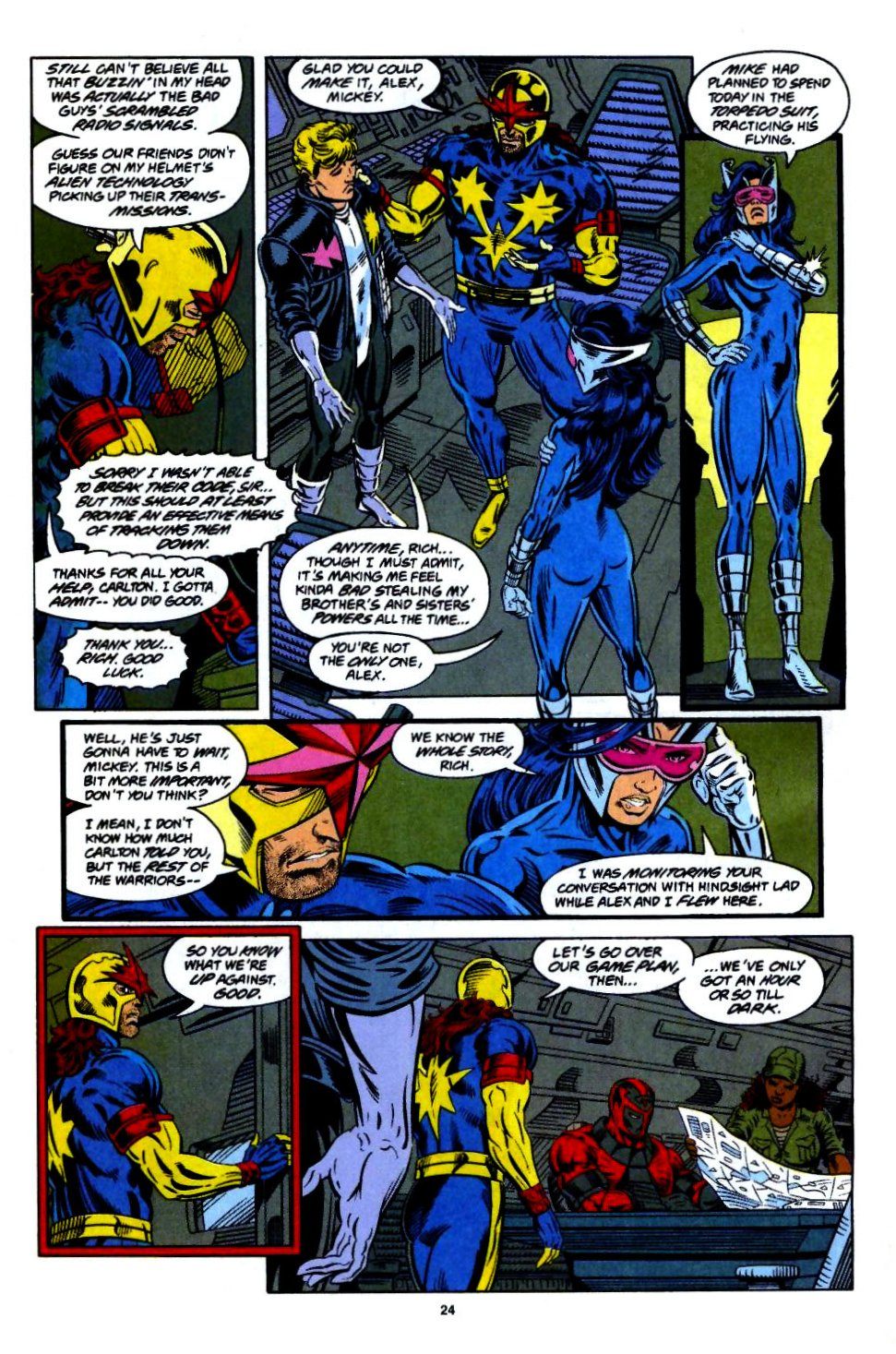 The New Warriors Issue #55 #59 - English 19