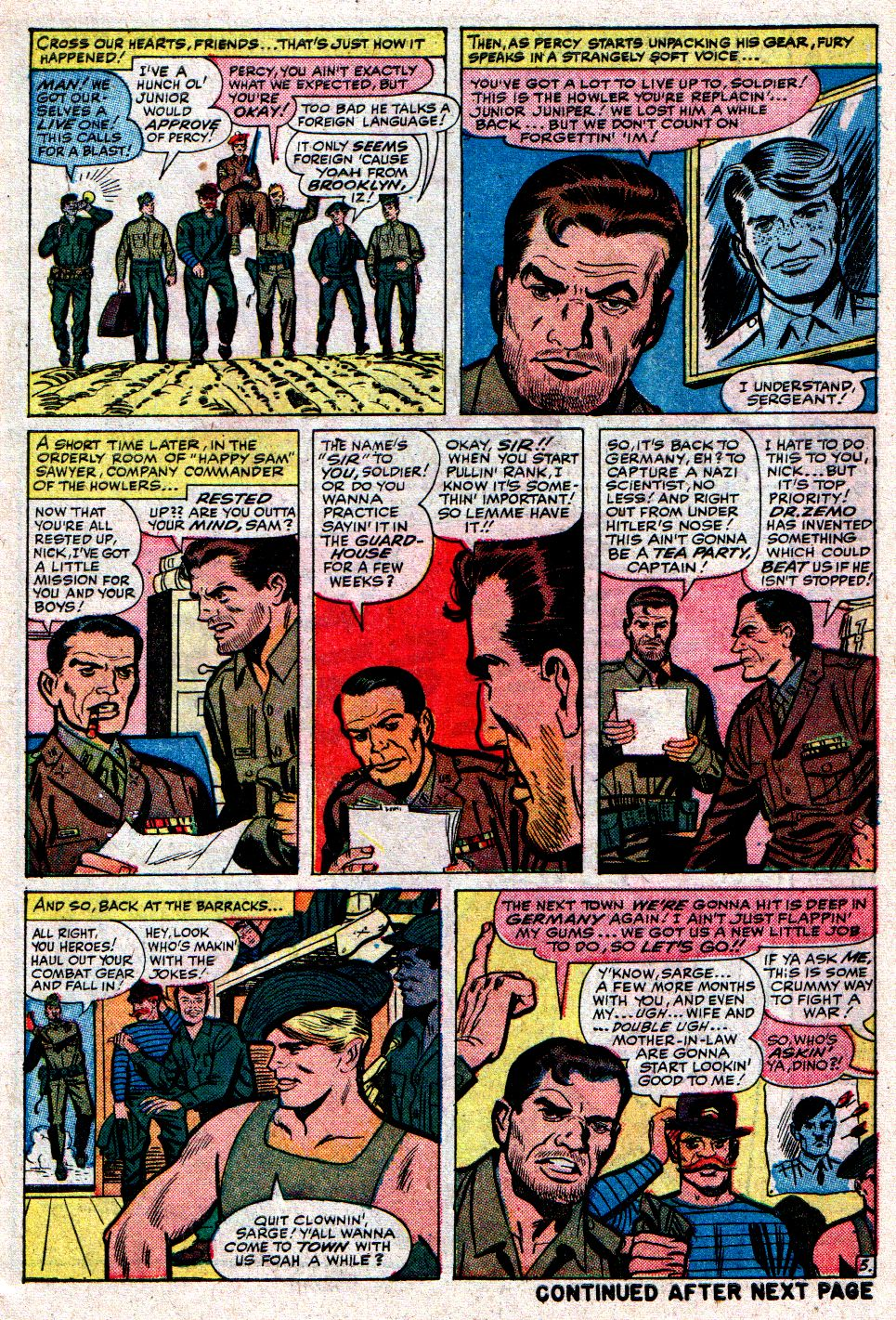 Read online Sgt. Fury comic -  Issue #8 - 7