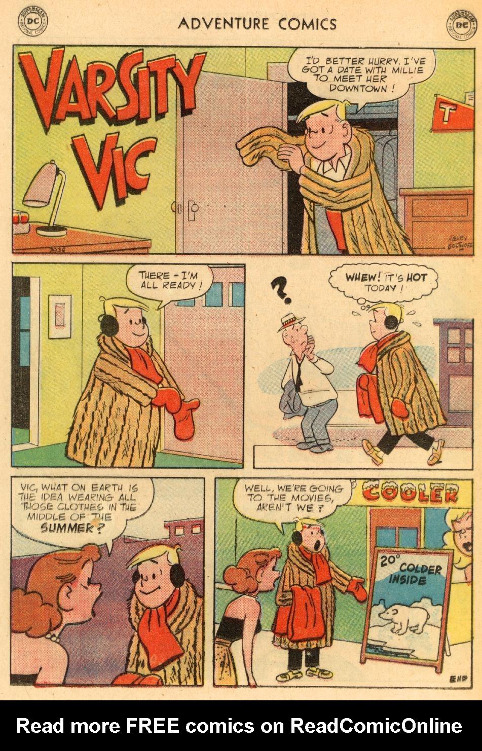 Read online Adventure Comics (1938) comic -  Issue #249 - 24