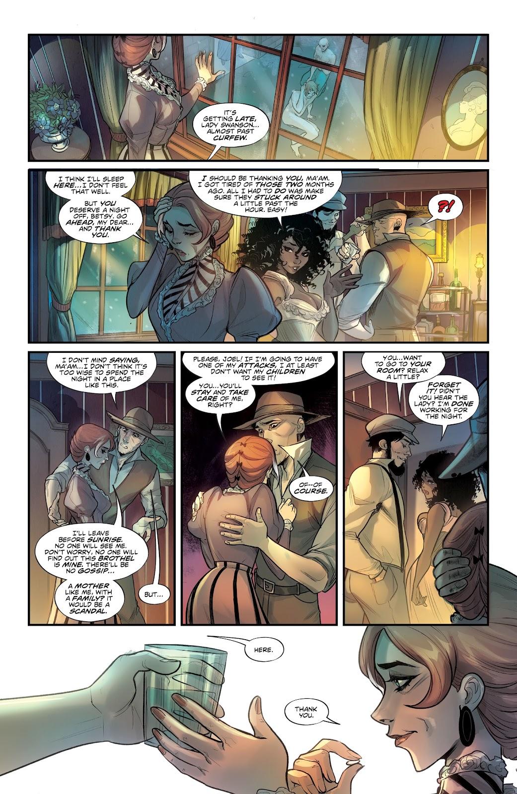 Read online Mirka Andolfo's Mercy comic -  Issue #1 - 22