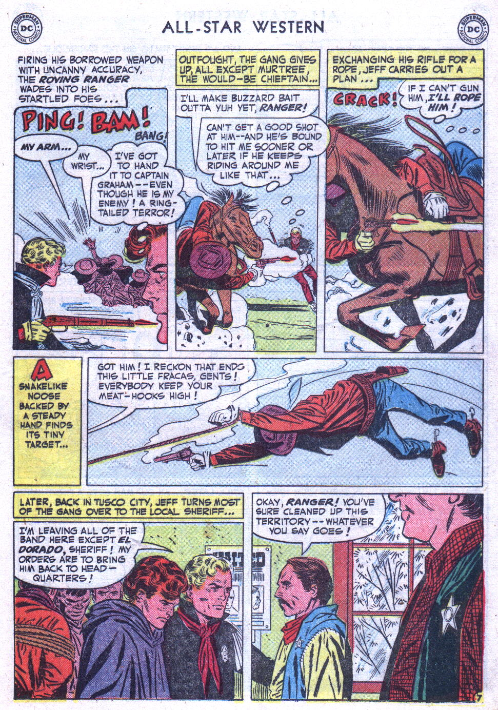 Read online All-Star Western (1951) comic -  Issue #59 - 31