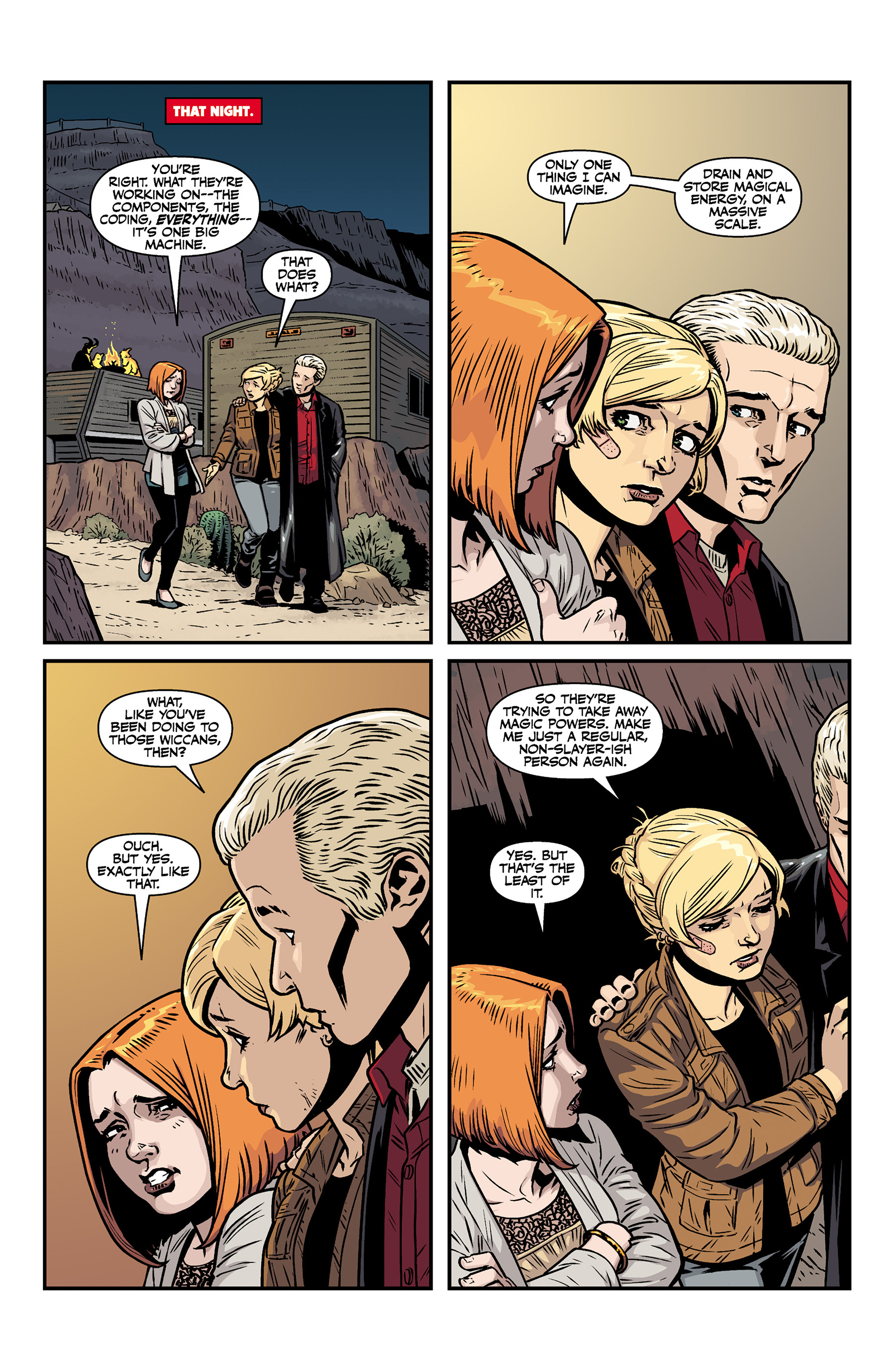 Read online Buffy the Vampire Slayer Season 11 comic -  Issue #6 - 22