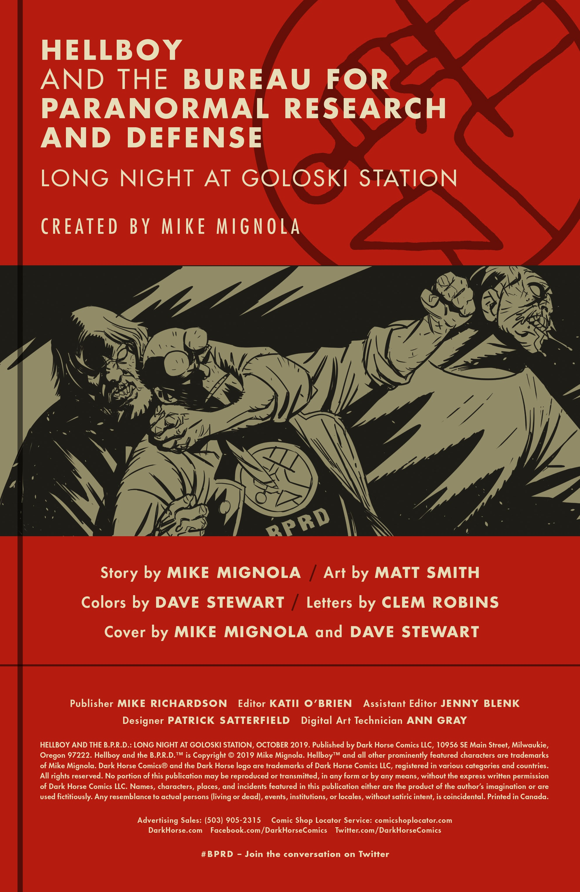 Hellboy and the B.P.R.D.: Long Night at Goloski Station Full Page 2