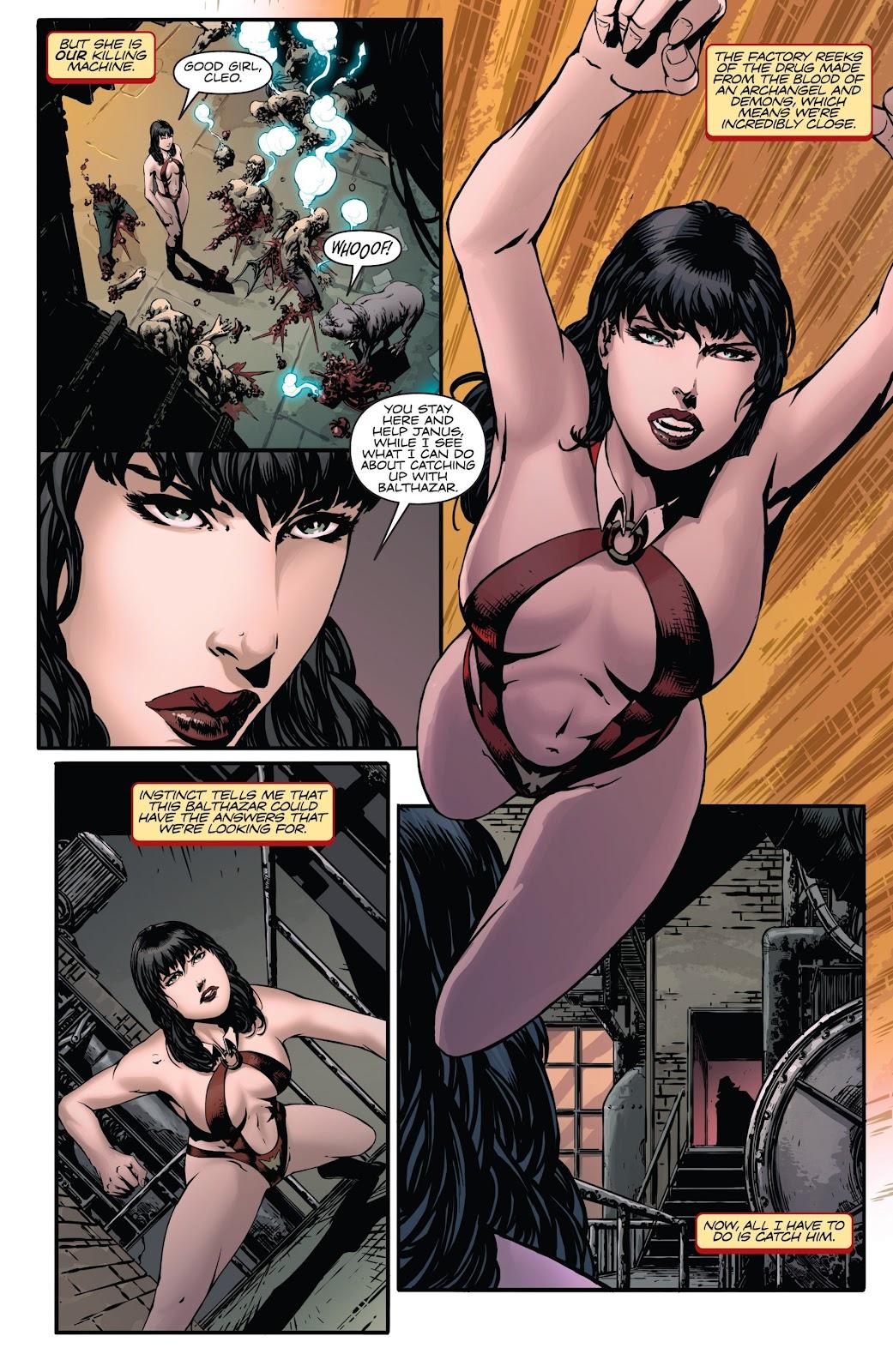 Read online Vampirella Strikes comic -  Issue #6 - 6