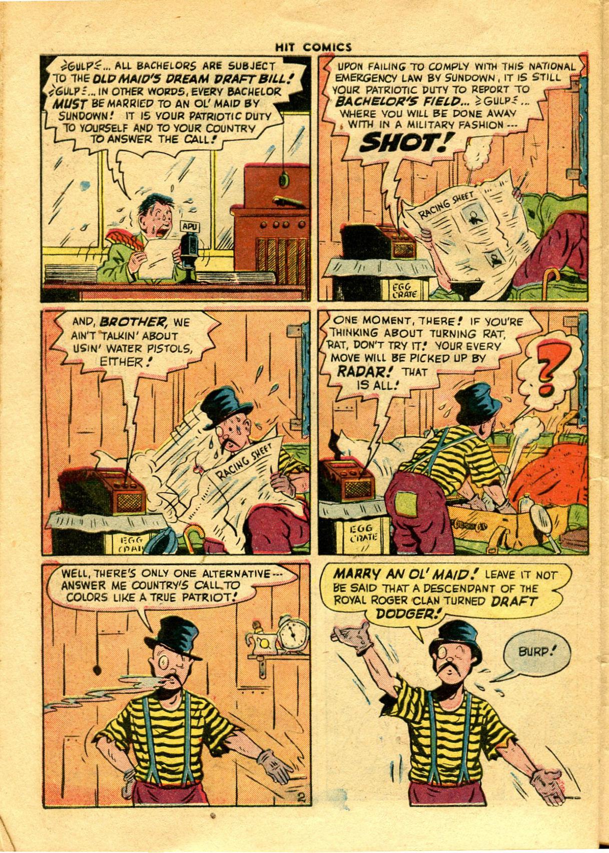 Read online Hit Comics comic -  Issue #48 - 40