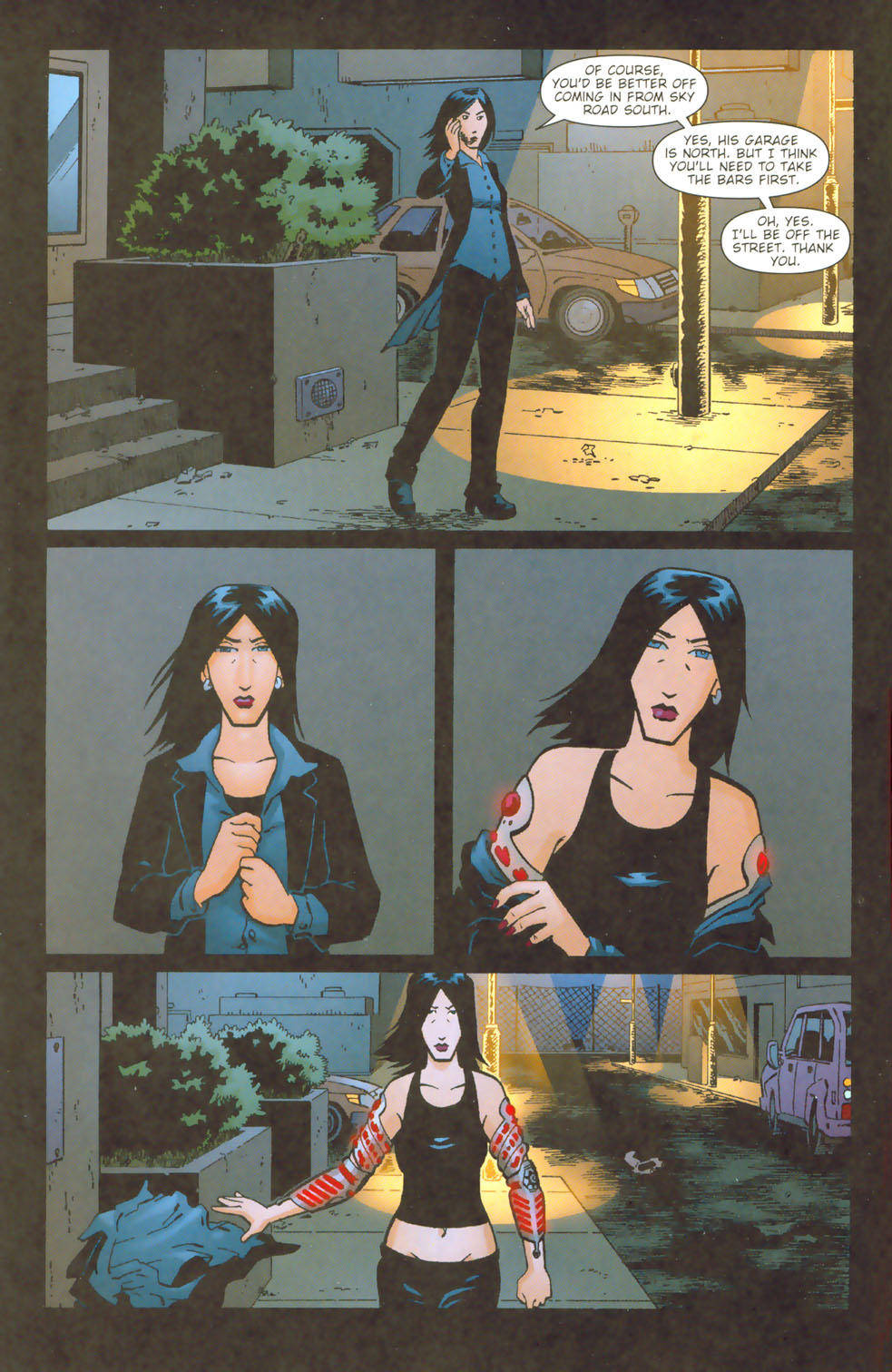 Read online Mek comic -  Issue #3 - 10