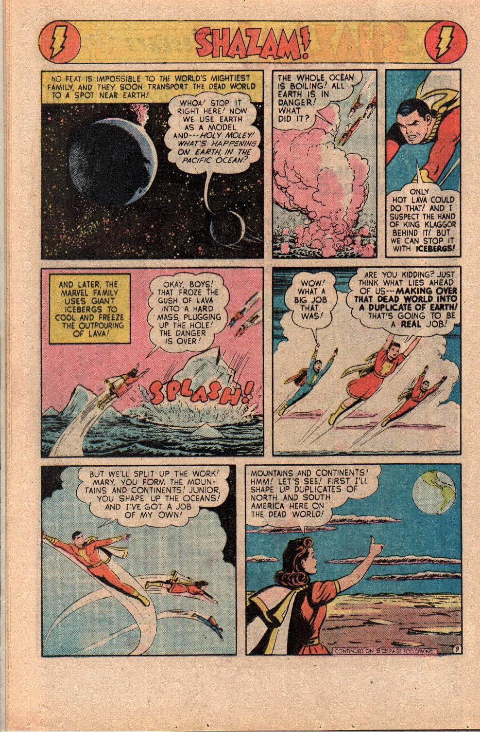 Read online Shazam! (1973) comic -  Issue #23 - 16