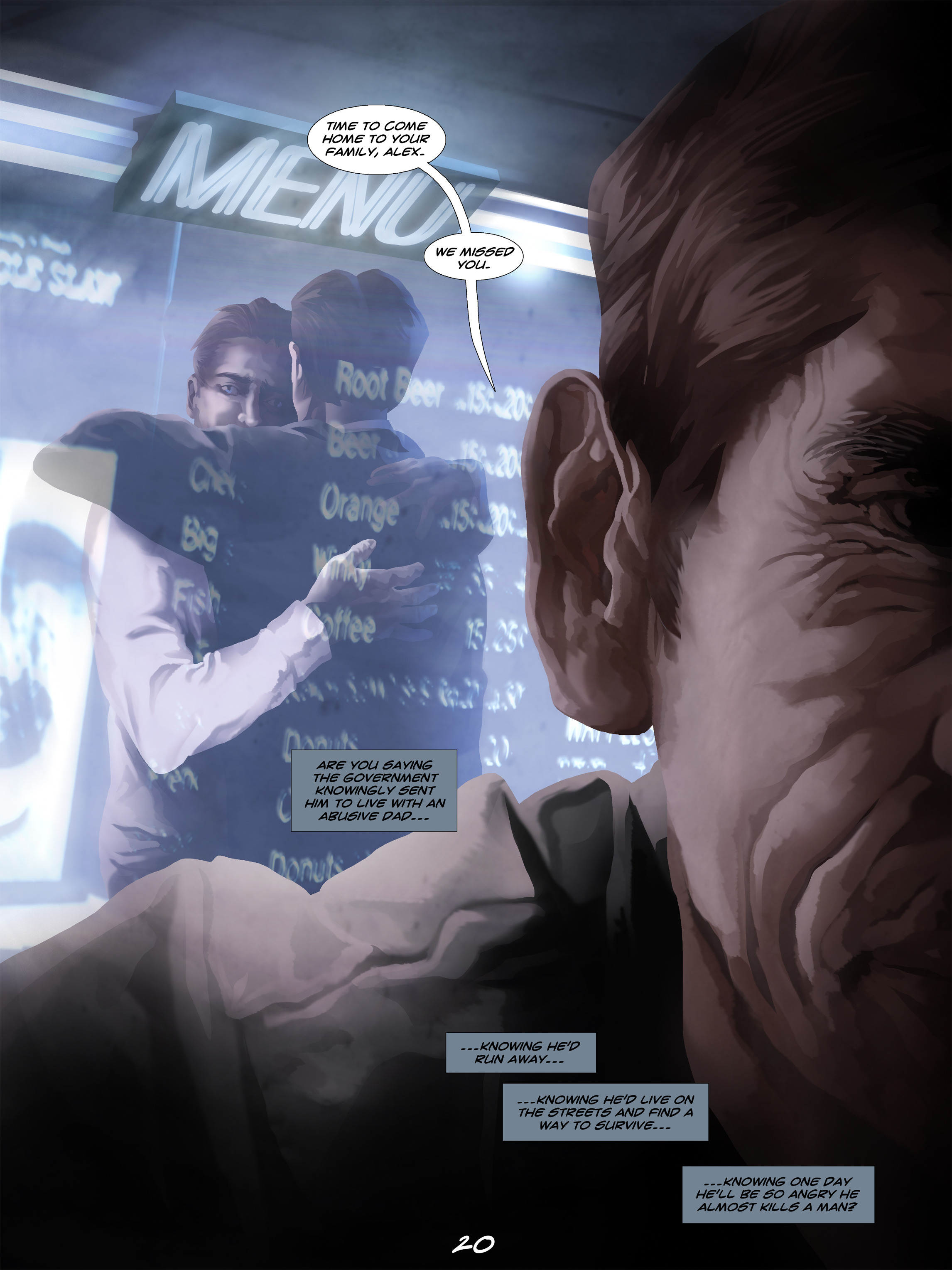 Read online Wynter comic -  Issue #5 - 21