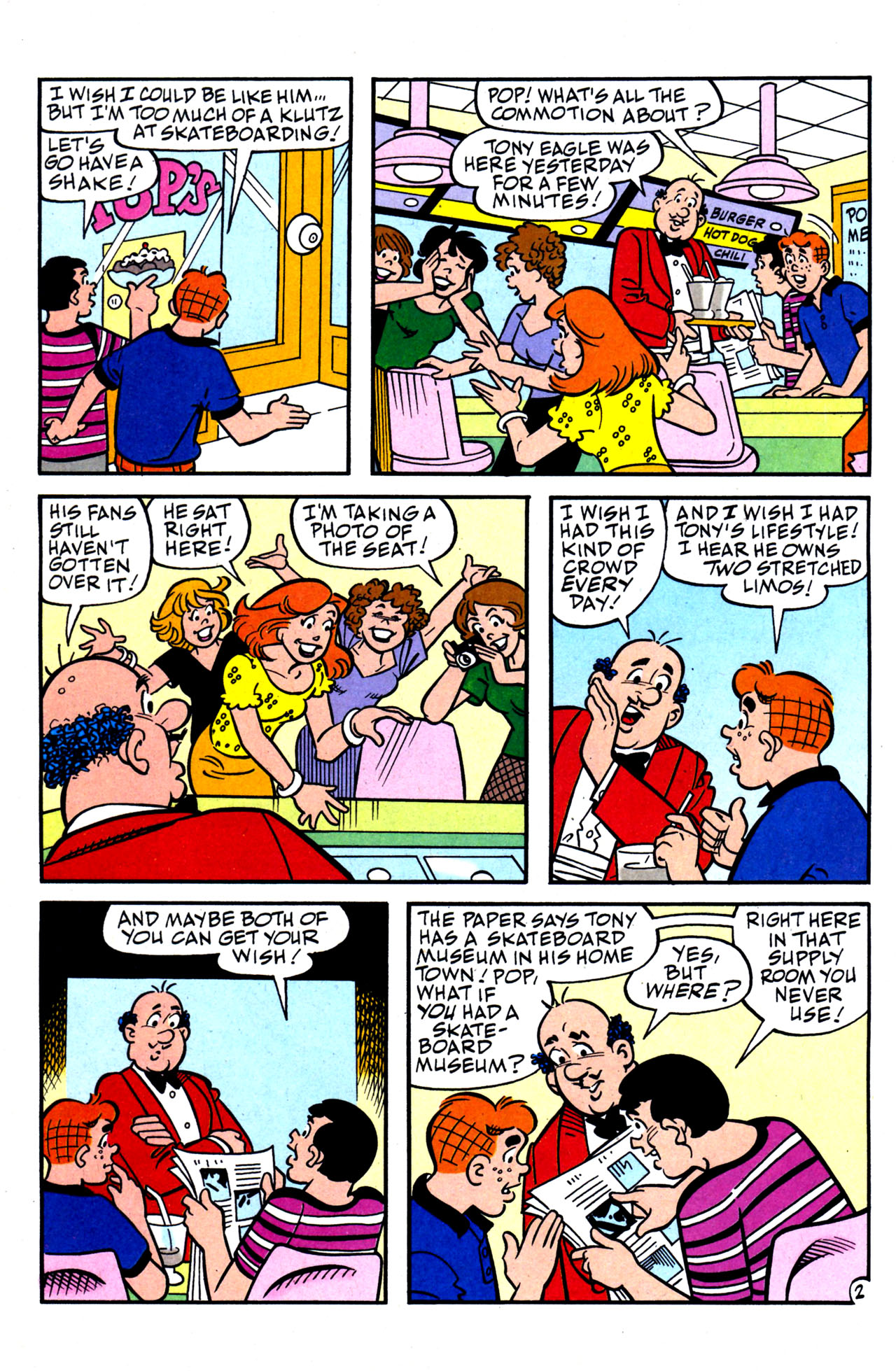 Read online Archie (1960) comic -  Issue #578 - 15