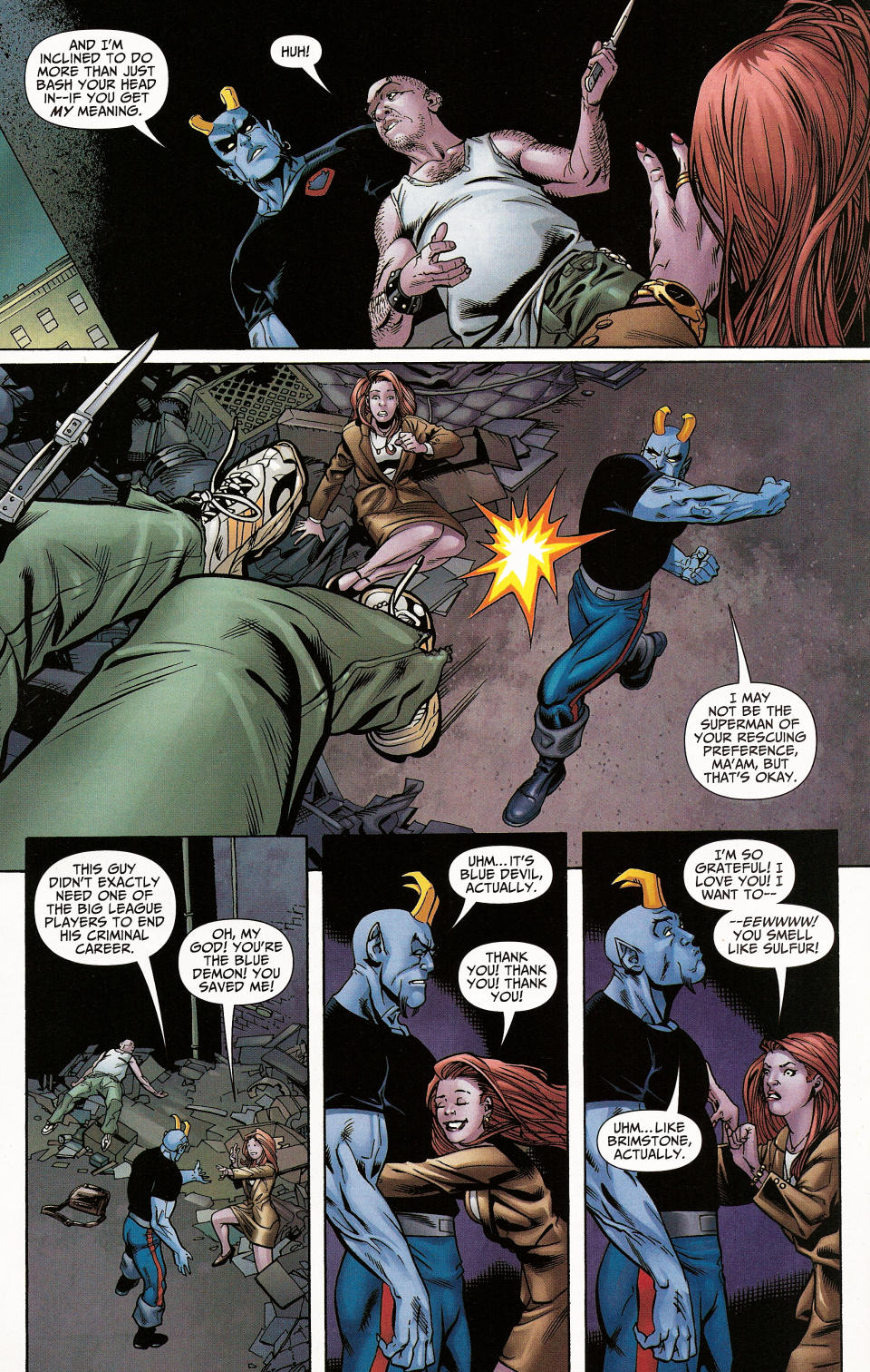 Read online Shadowpact comic -  Issue #4 - 16