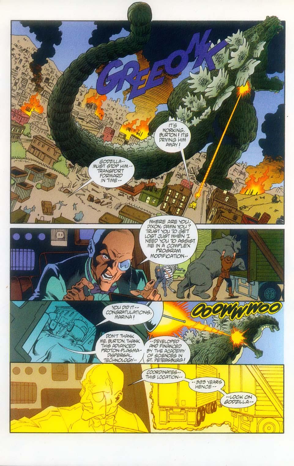 Godzilla (1995) Issue #11 #12 - English 25