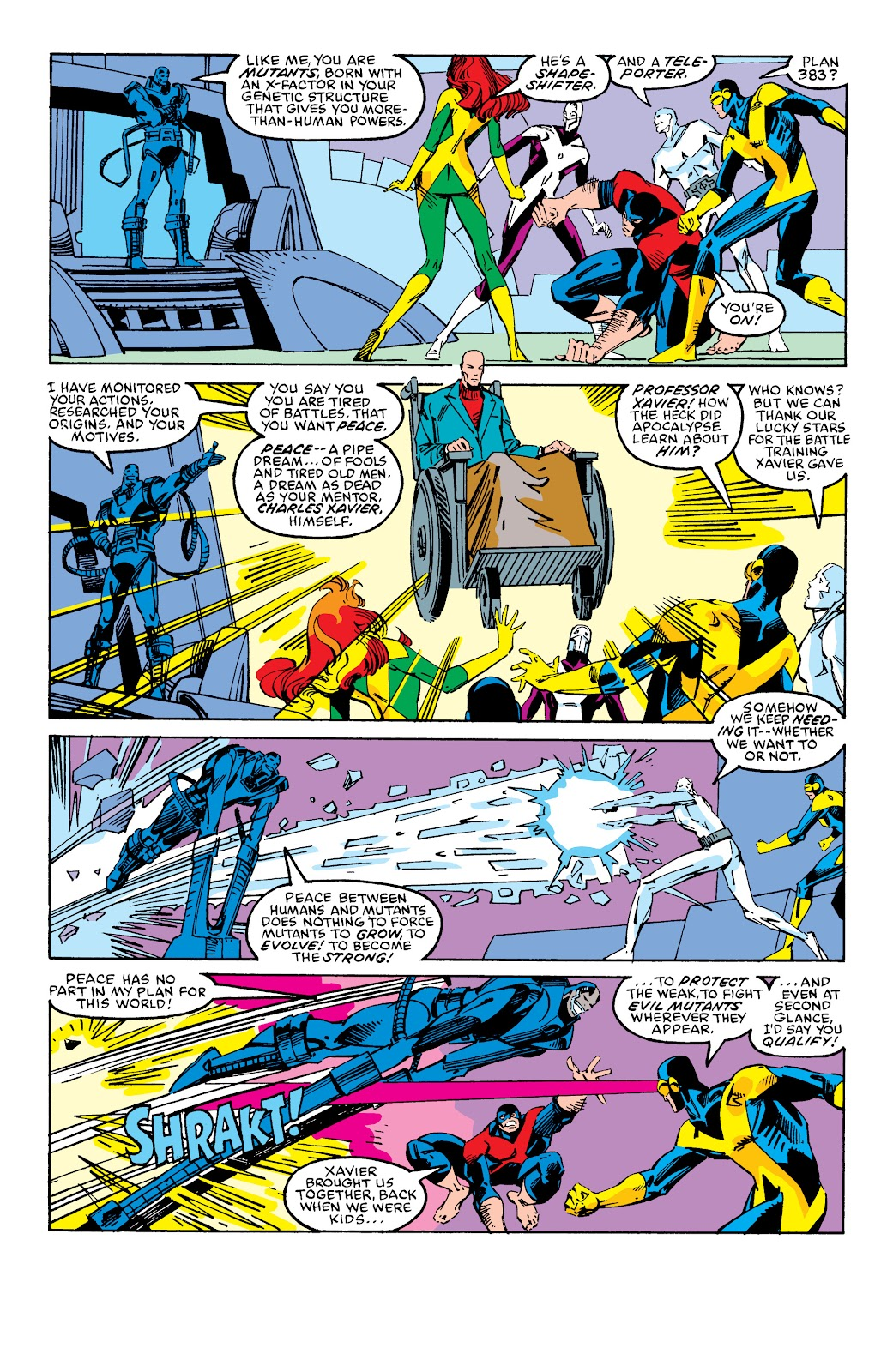 Read online X-Men Milestones: Fall of the Mutants comic -  Issue # TPB (Part 2) - 84