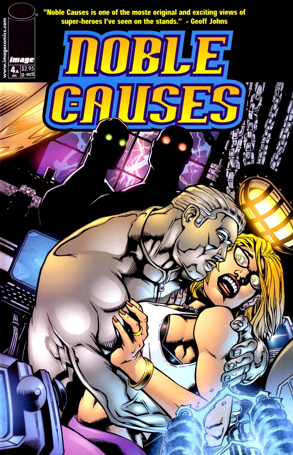 Read online Noble Causes (2002) comic -  Issue #4 - 1