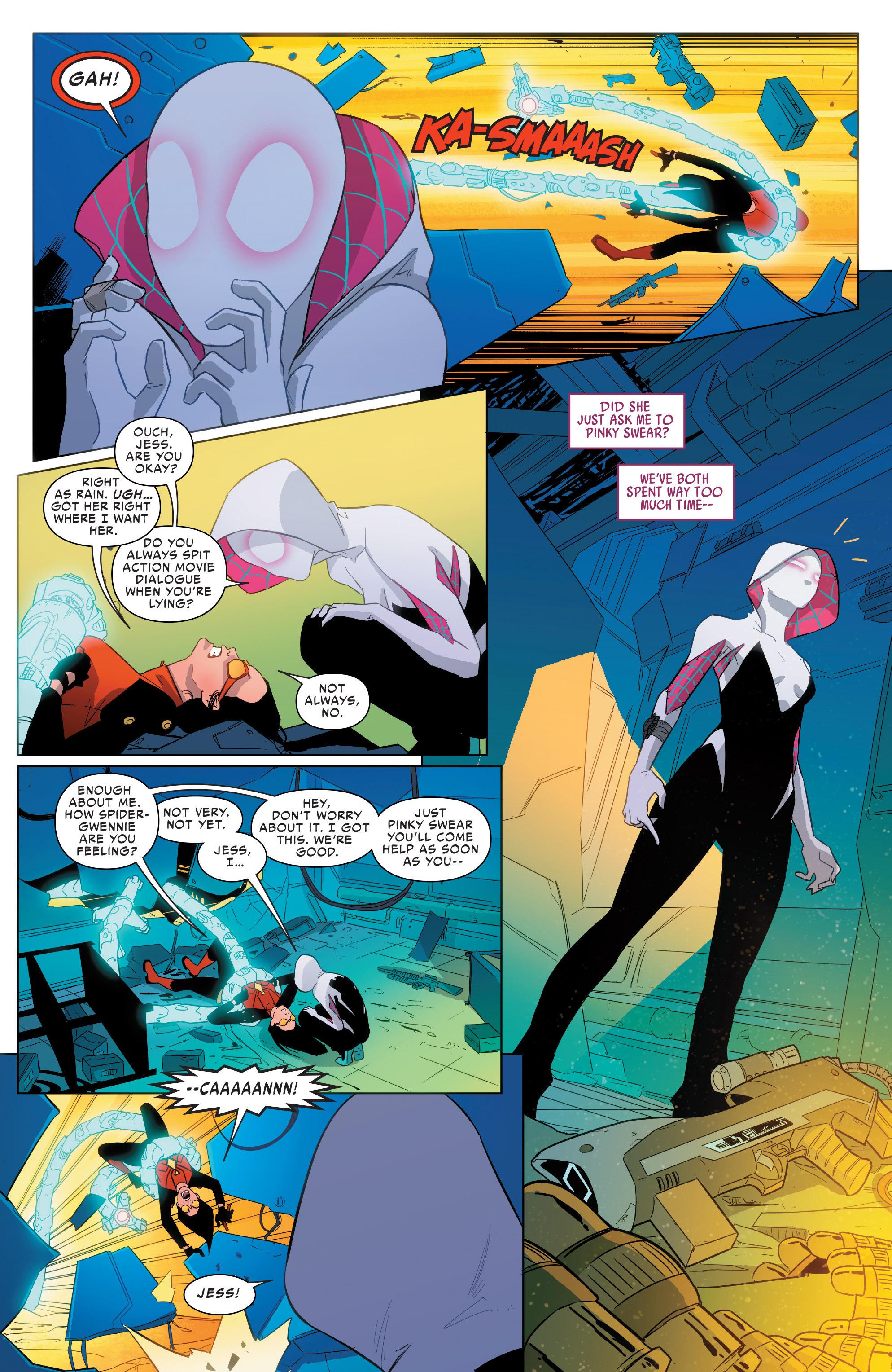 Read online Spider-Women Omega comic -  Issue # Full - 13