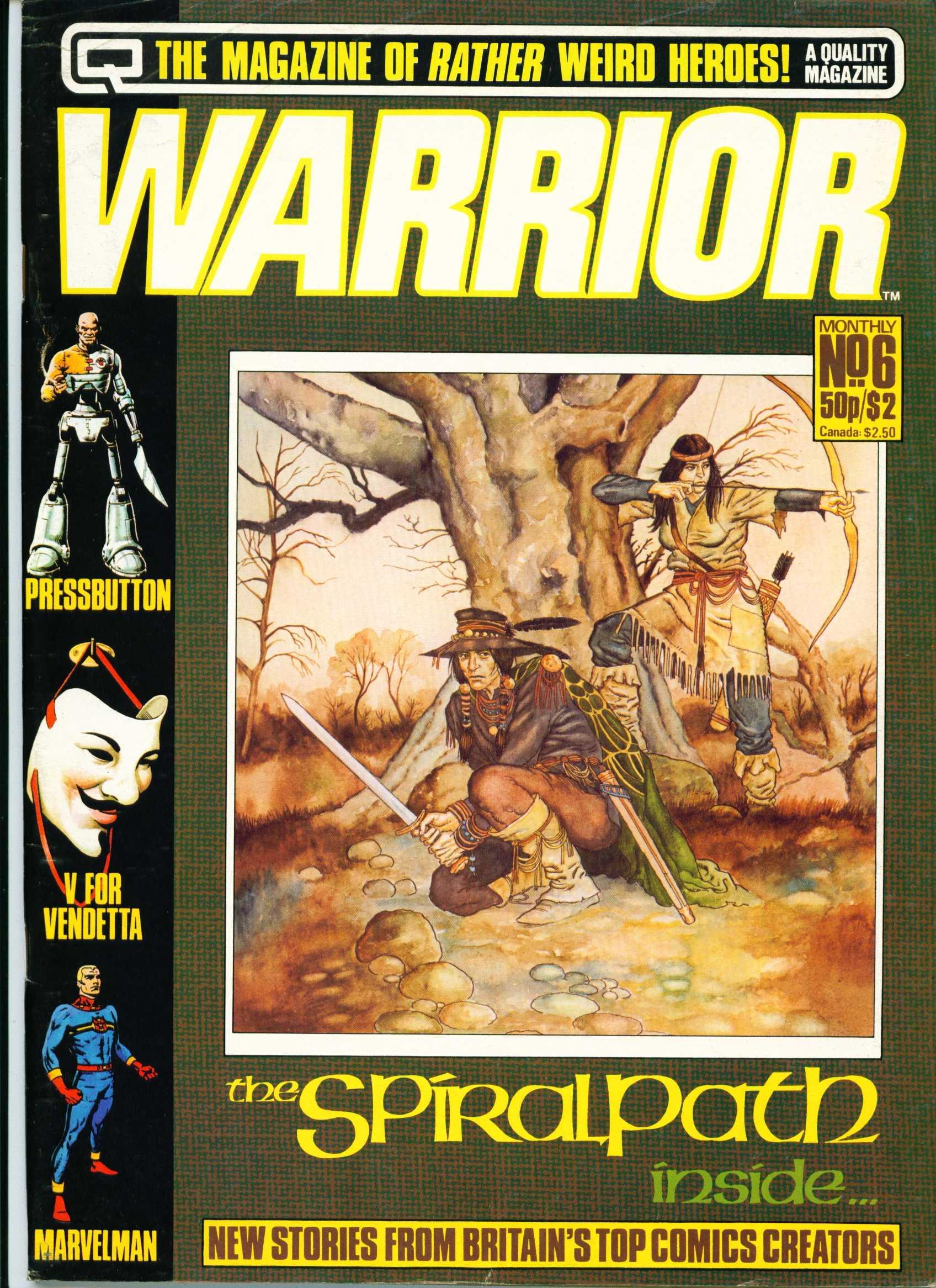 Warrior 6 Page 1