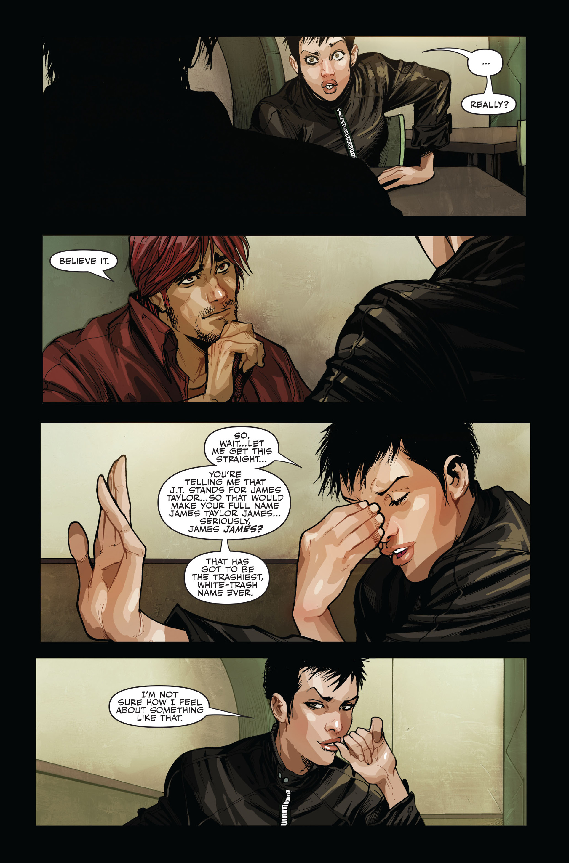 Read online Secret Warriors comic -  Issue #14 - 17