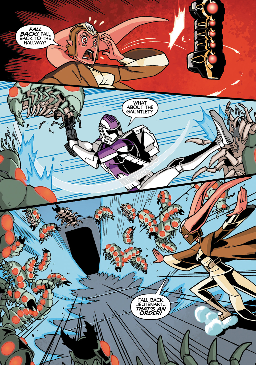 Read online Star Wars: The Clone Wars - Defenders of the Lost Temple comic -  Issue # Full - 37