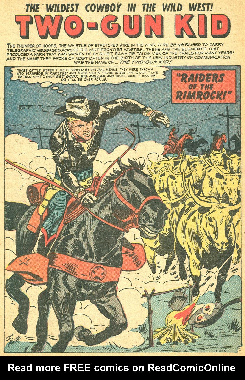 Read online Two-Gun Kid comic -  Issue #37 - 28