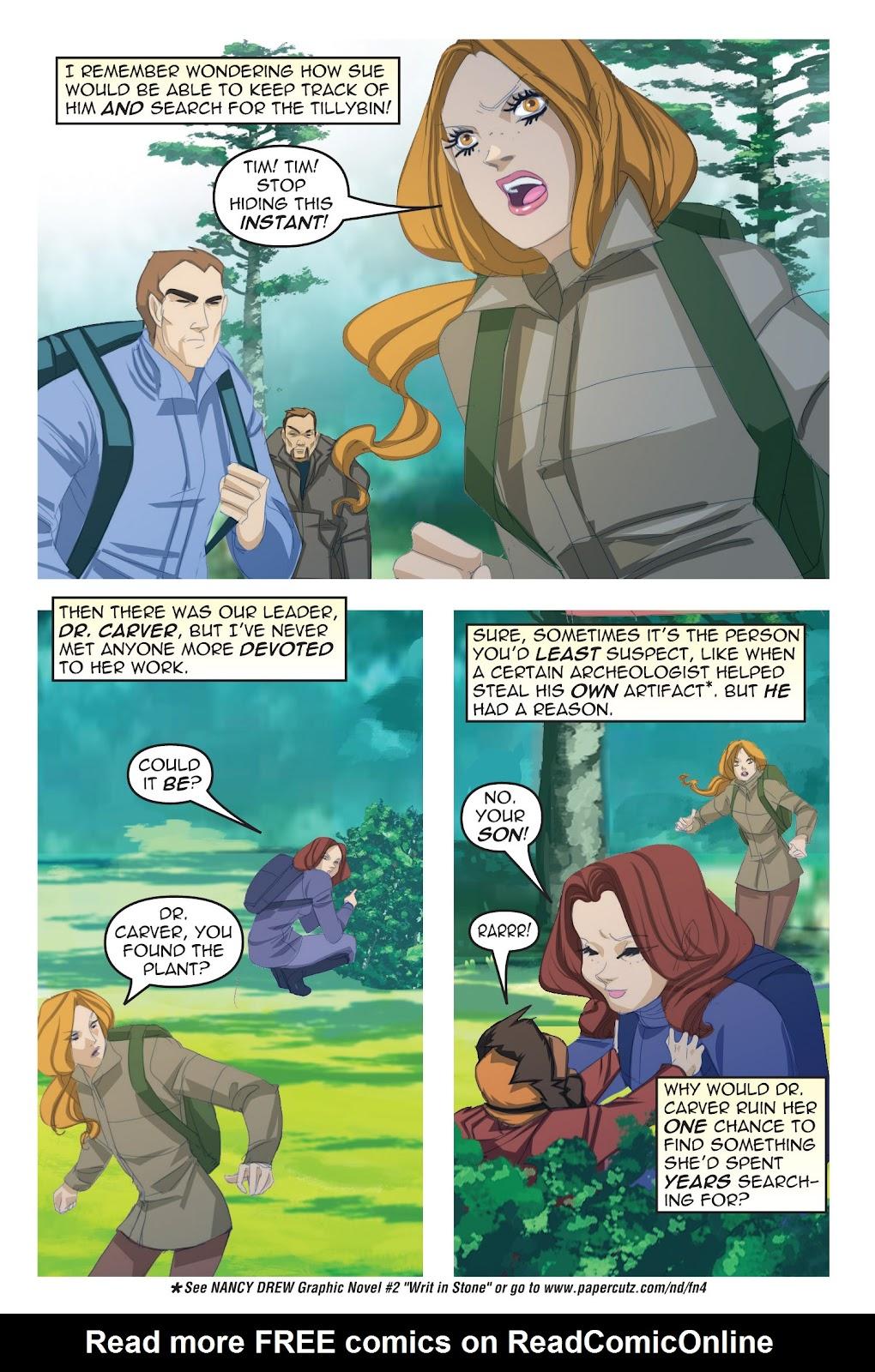 Read online Nancy Drew comic -  Issue #19 - 16