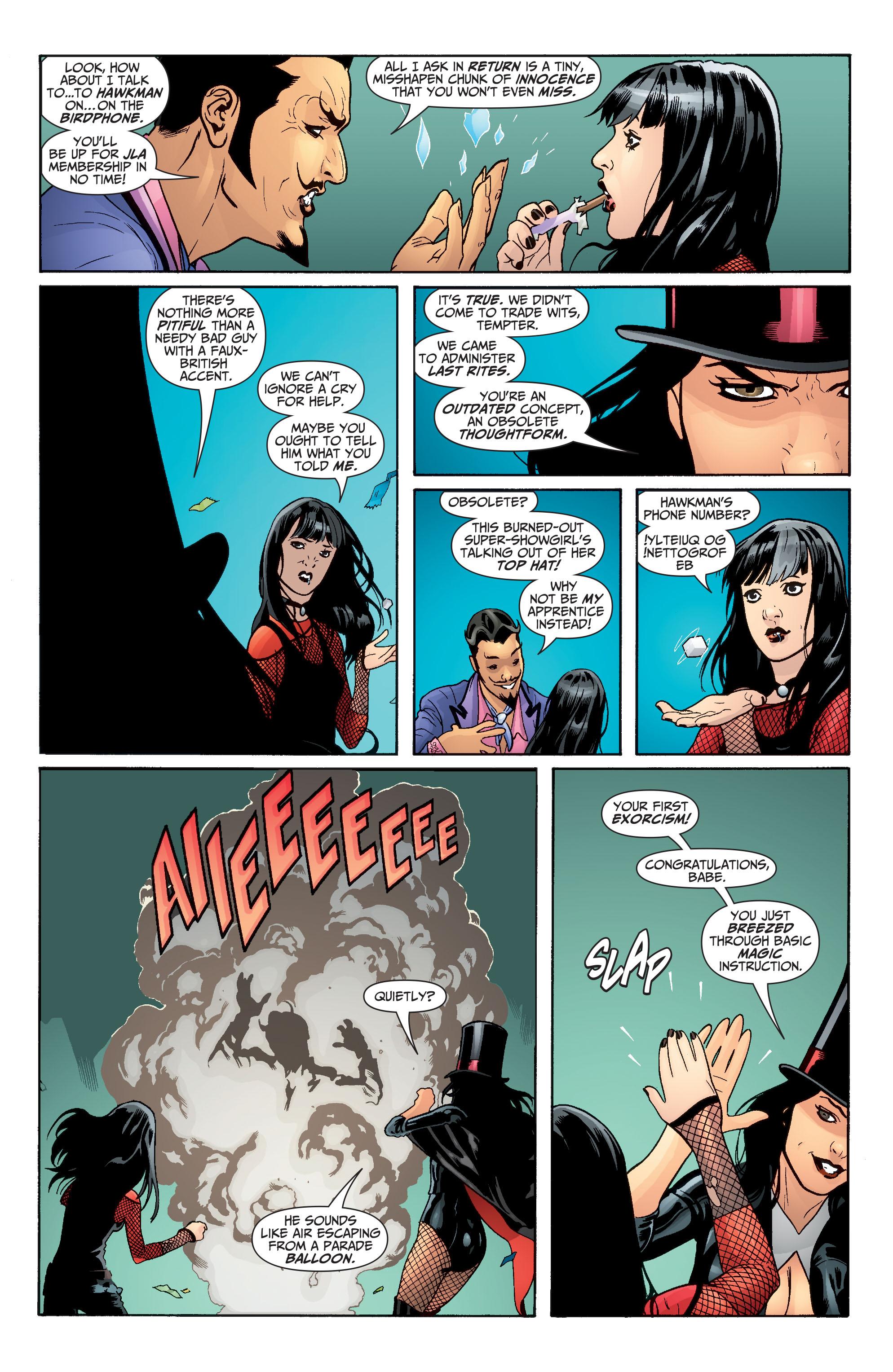 Read online Seven Soldiers: Zatanna comic -  Issue #3 - 5