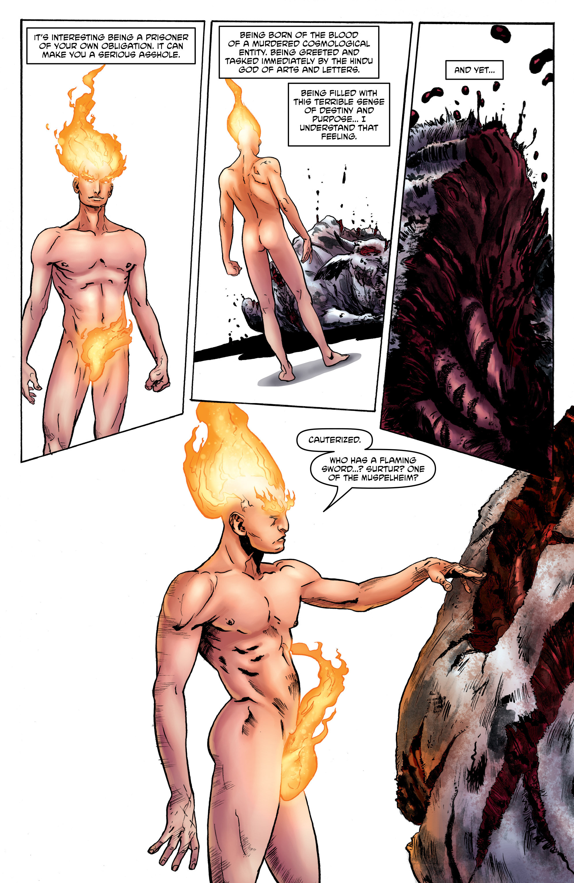 Read online God is Dead: Book of Acts comic -  Issue # Alpha - 22