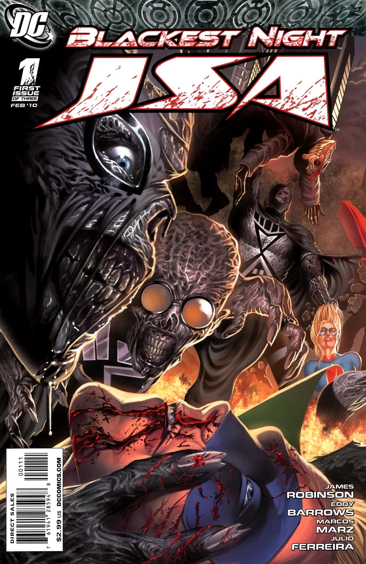 Blackest Night: JSA 1 Page 1