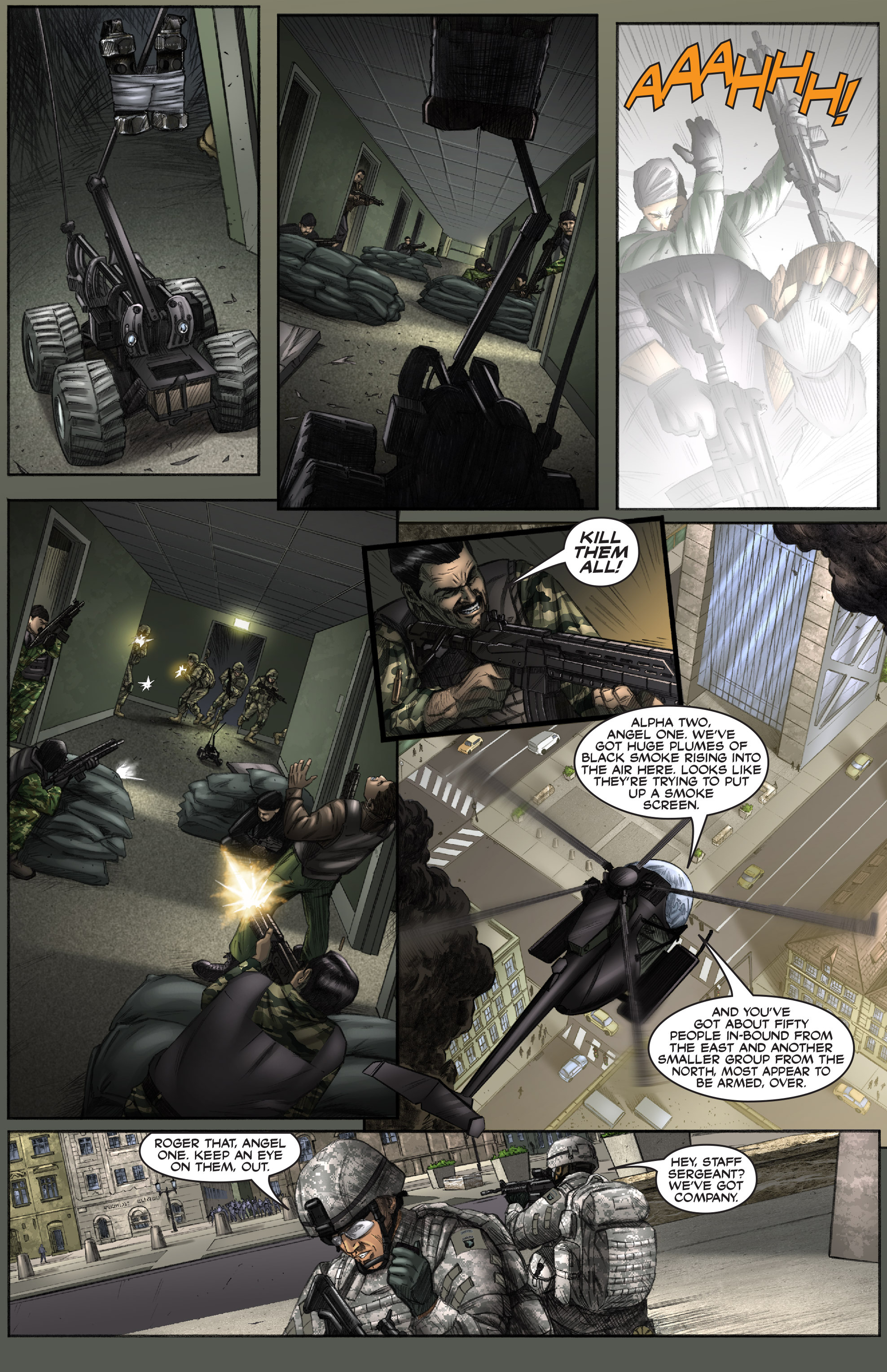 Read online America's Army comic -  Issue #0 - 13